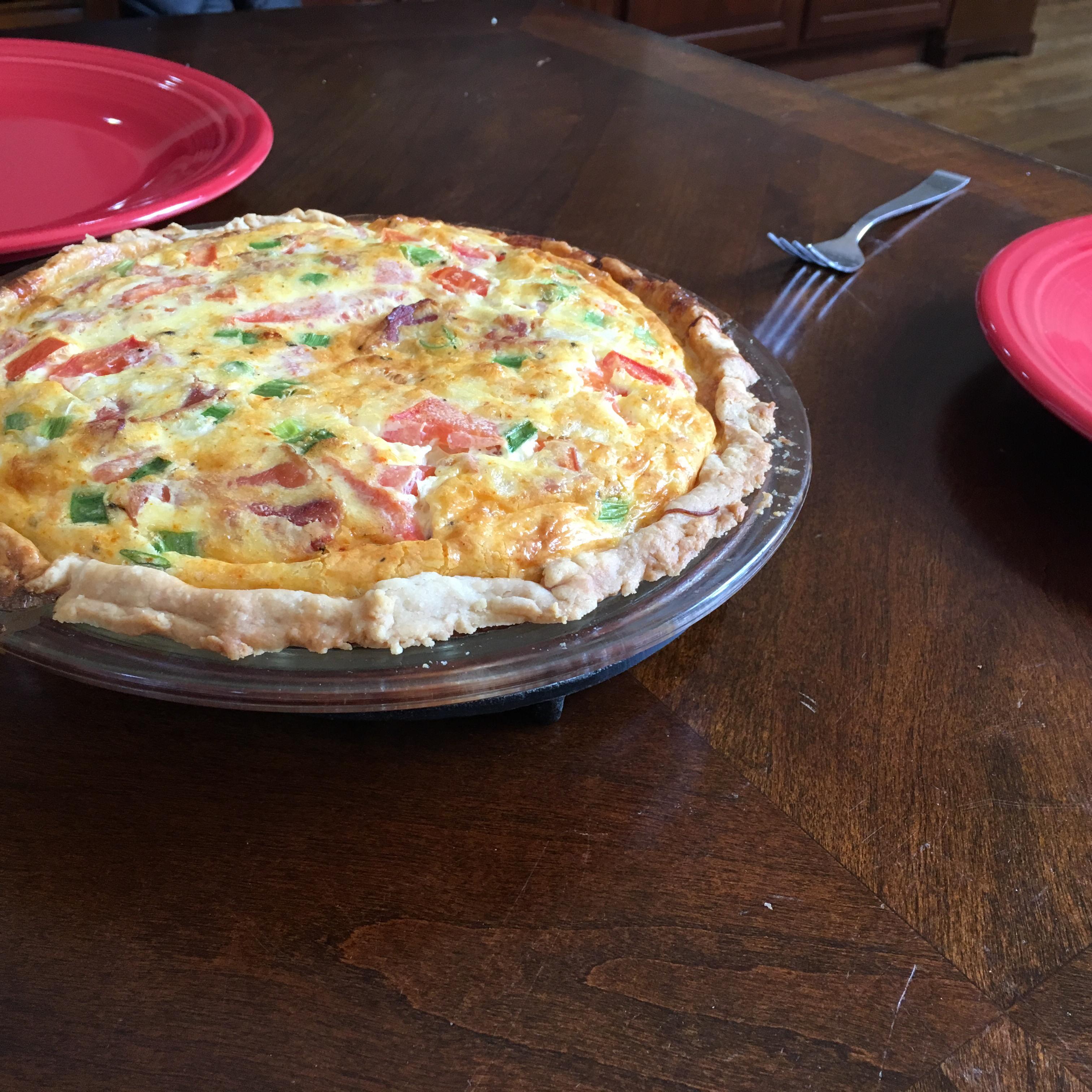Rich Cheese Pie