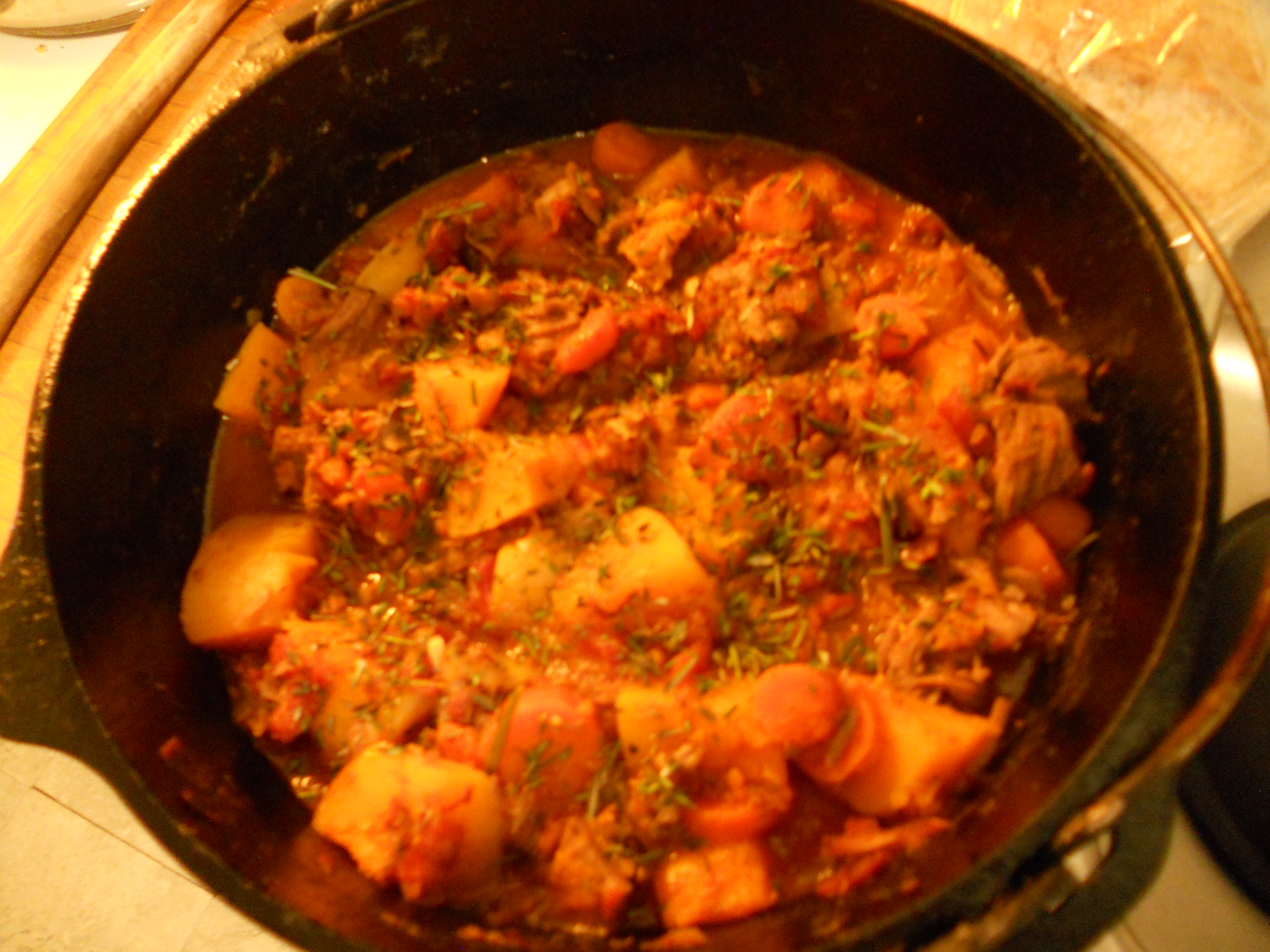 Lamb Stew with Butternut Squash OleChef