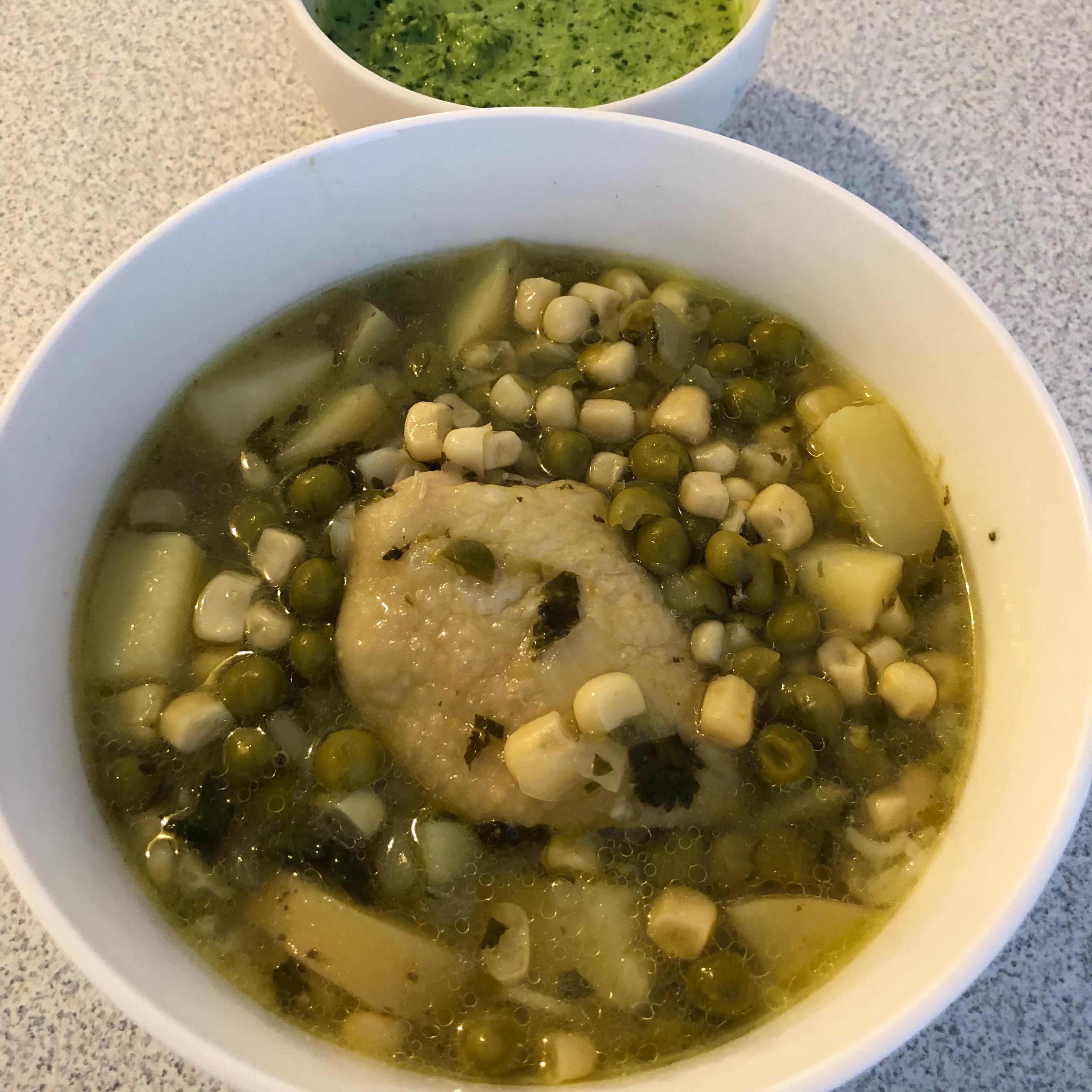 Peruvian Chicken Soup (Aguadito de Pollo) Jenn