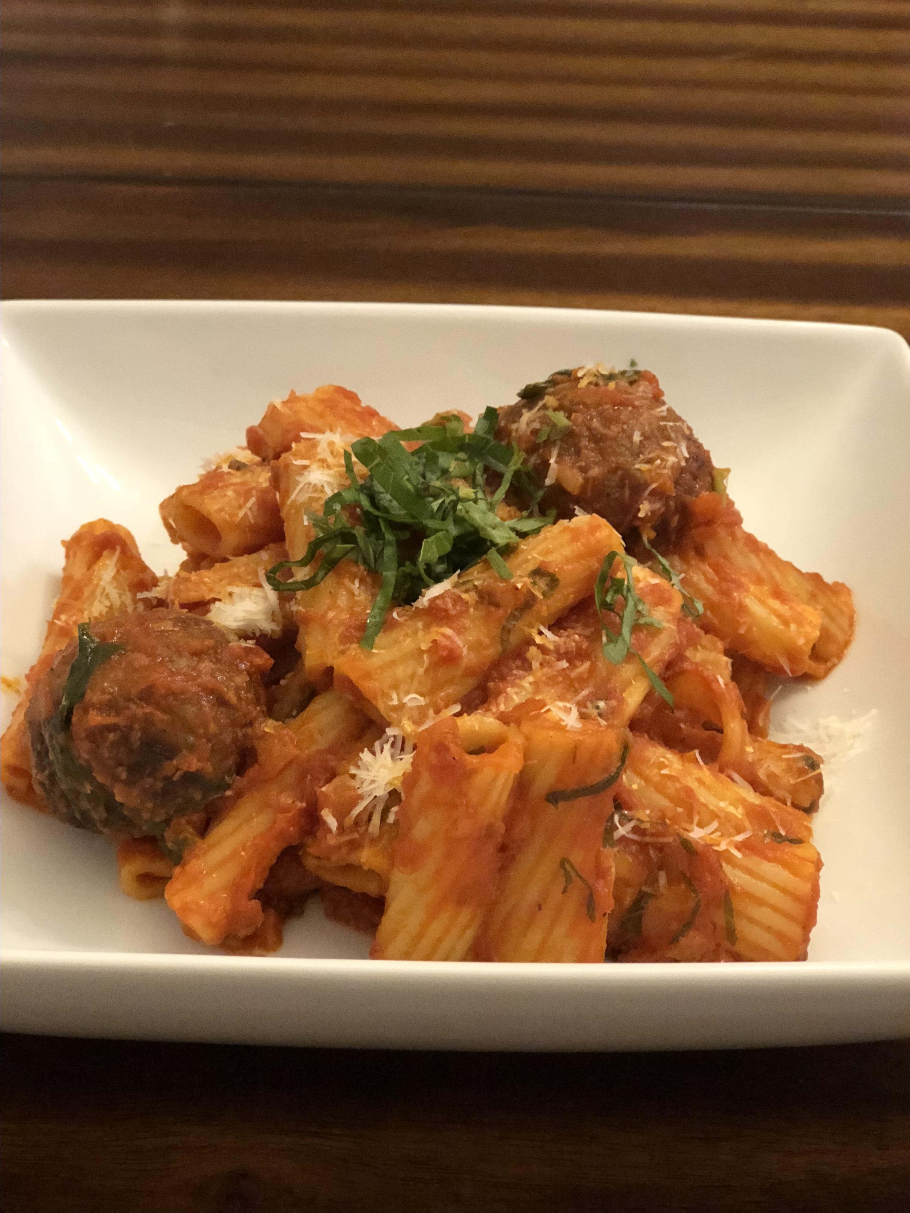 Rigatoni al Segreto (Rigatoni with Secret Sauce) Vy Kim Trang