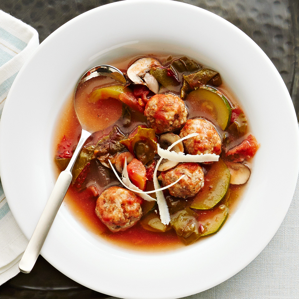 Italian Meatball Soup Diabetic Living Magazine