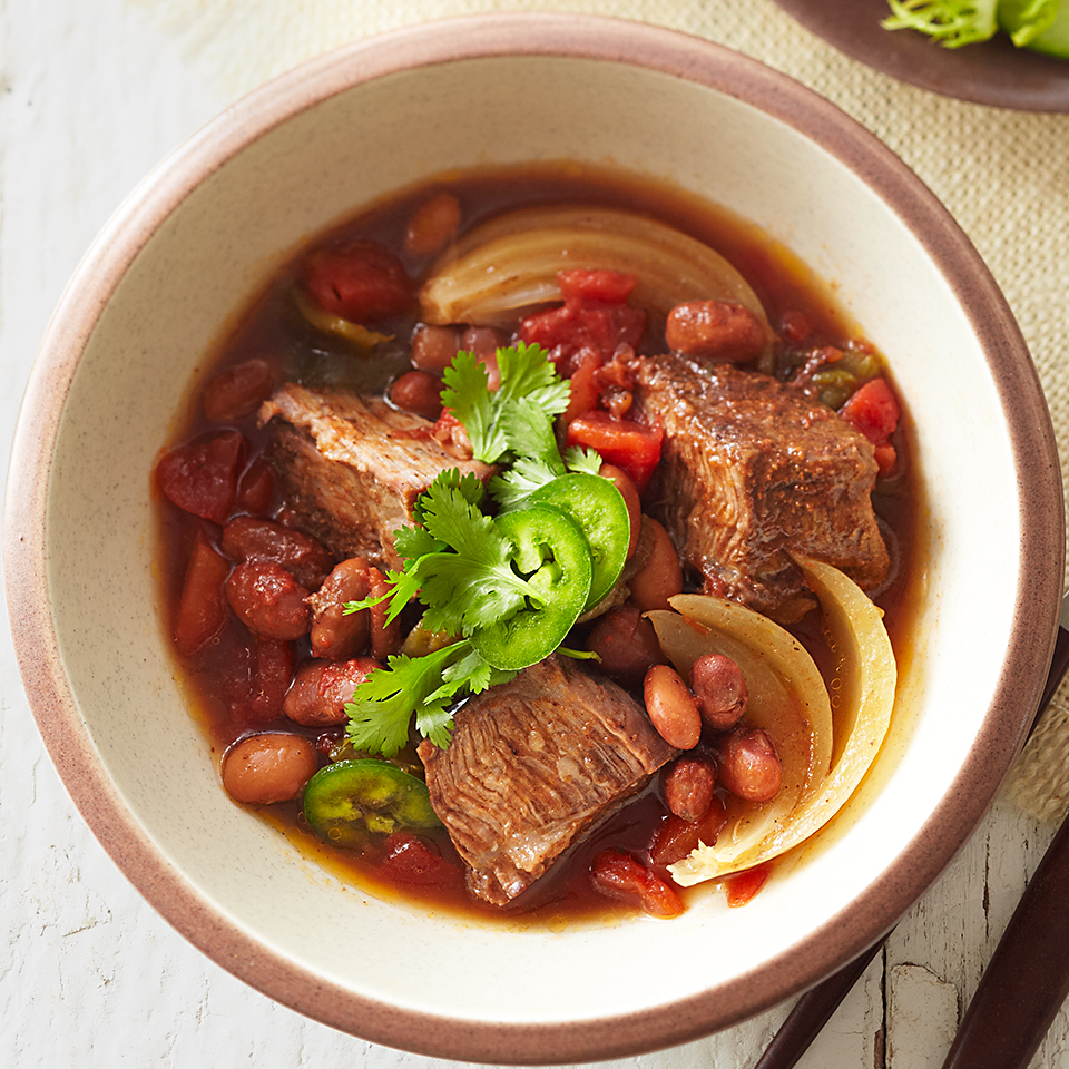 Texas Beef and Beans Diabetic Living Magazine