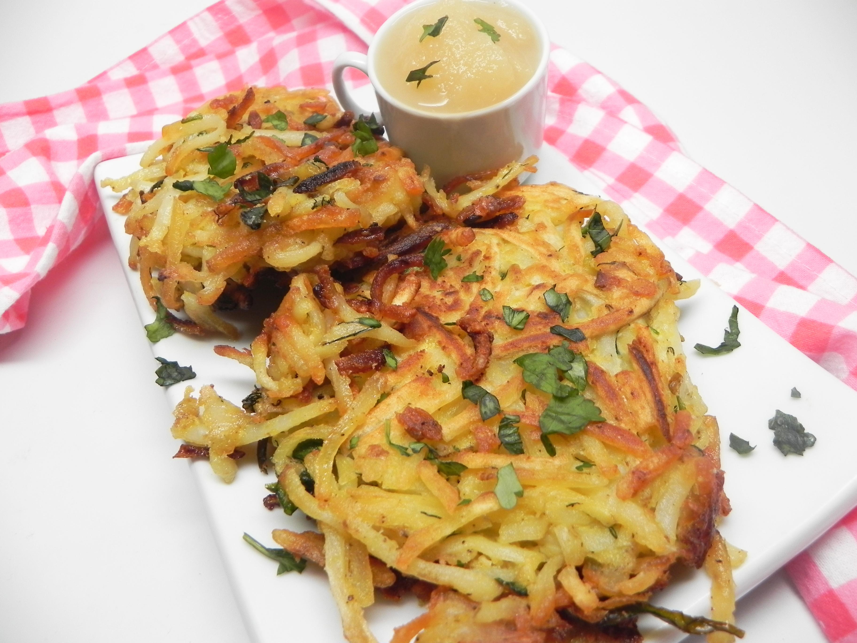 Potato Turnip Pancakes