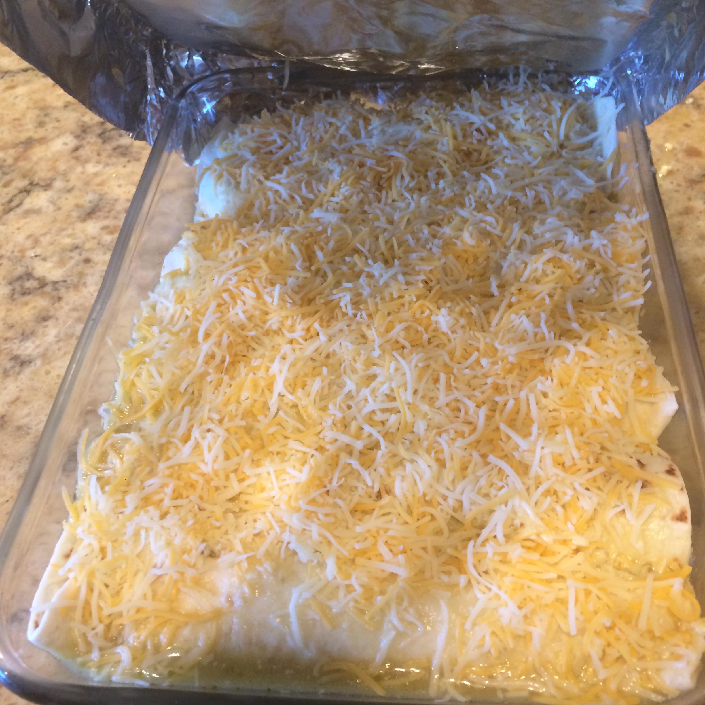 Chicken Enchiladas Suizas Vanessa
