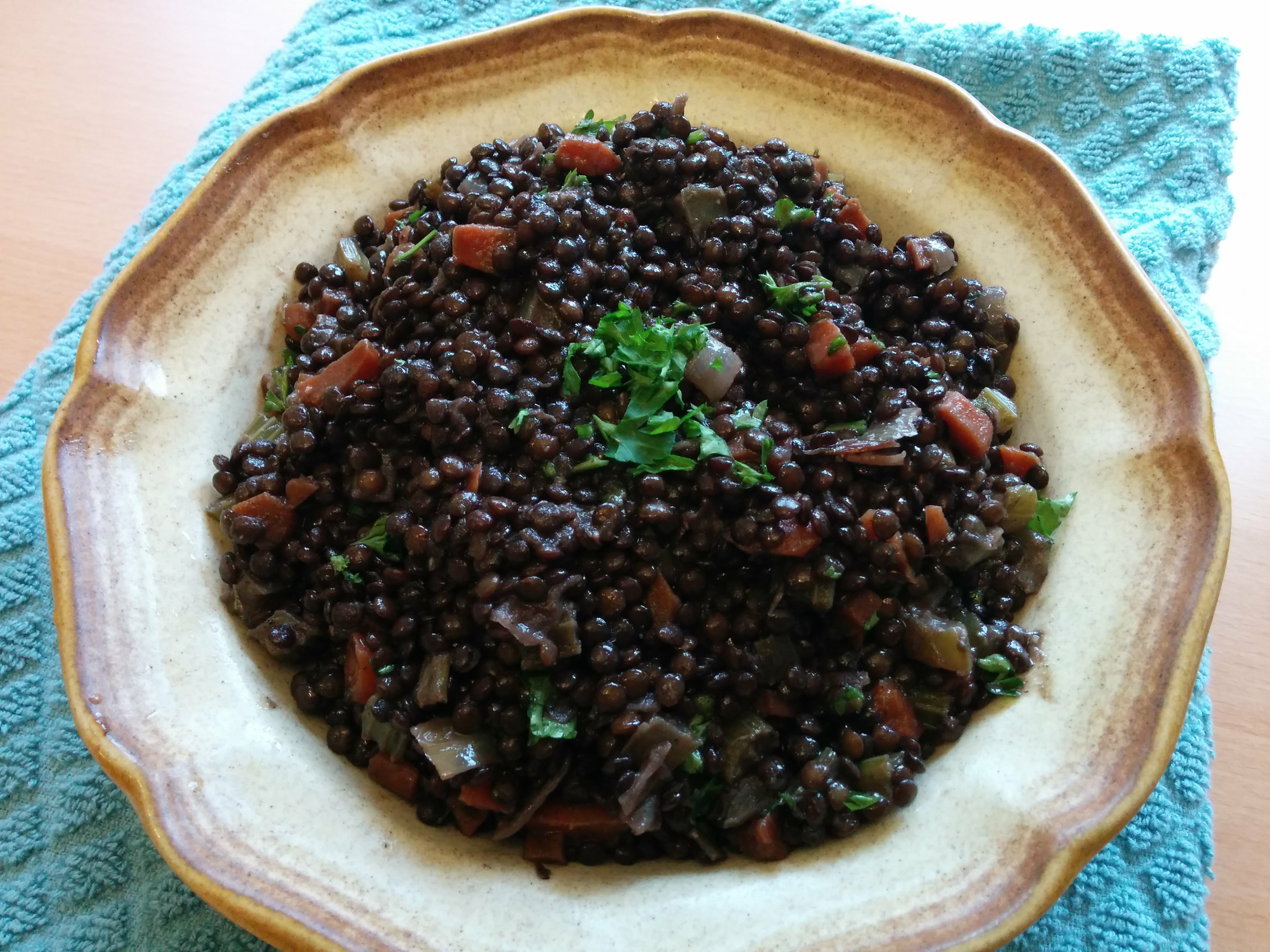 Braised Black Lentils Recipe Allrecipes