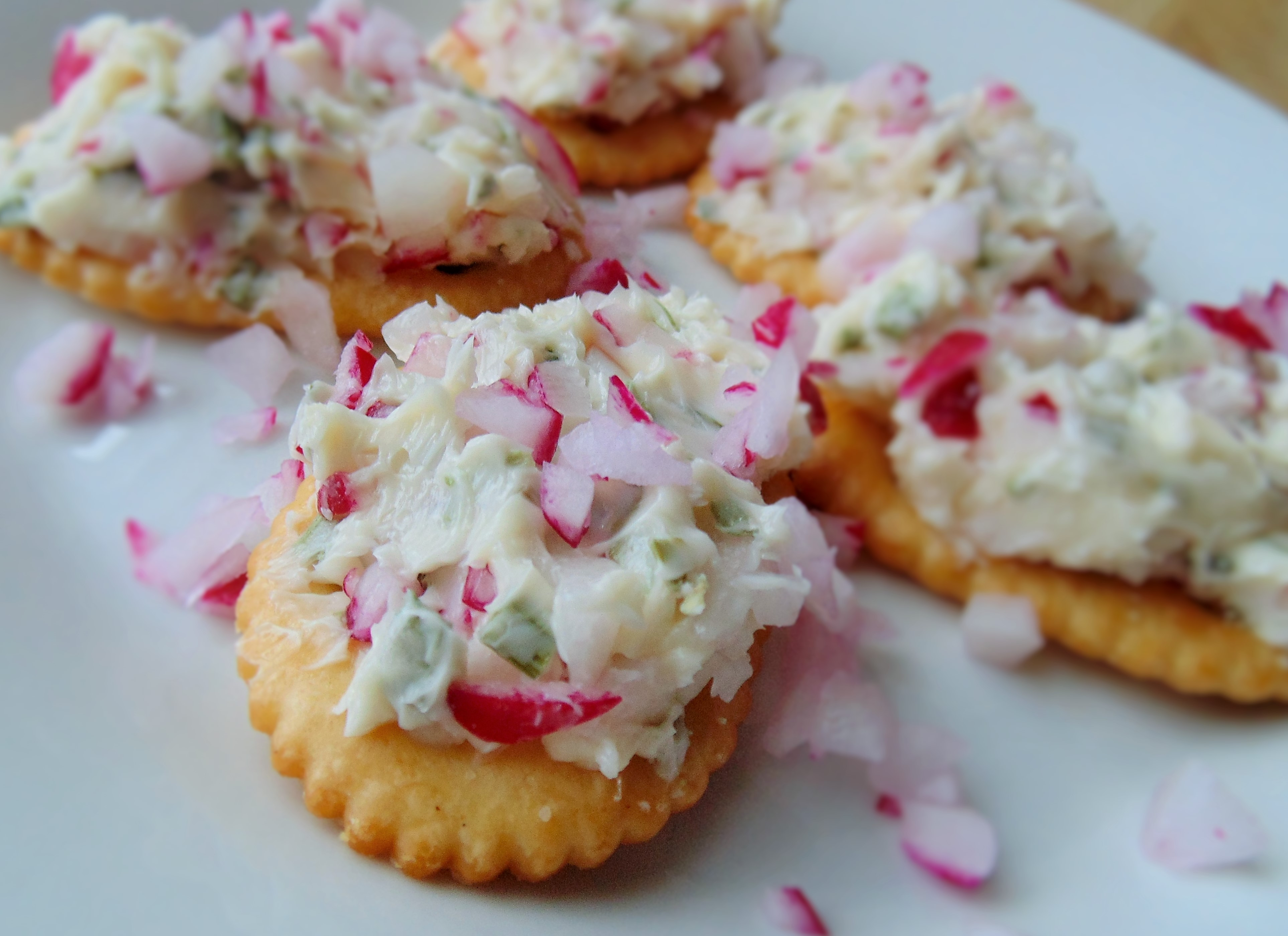 Radish and Butter Spread