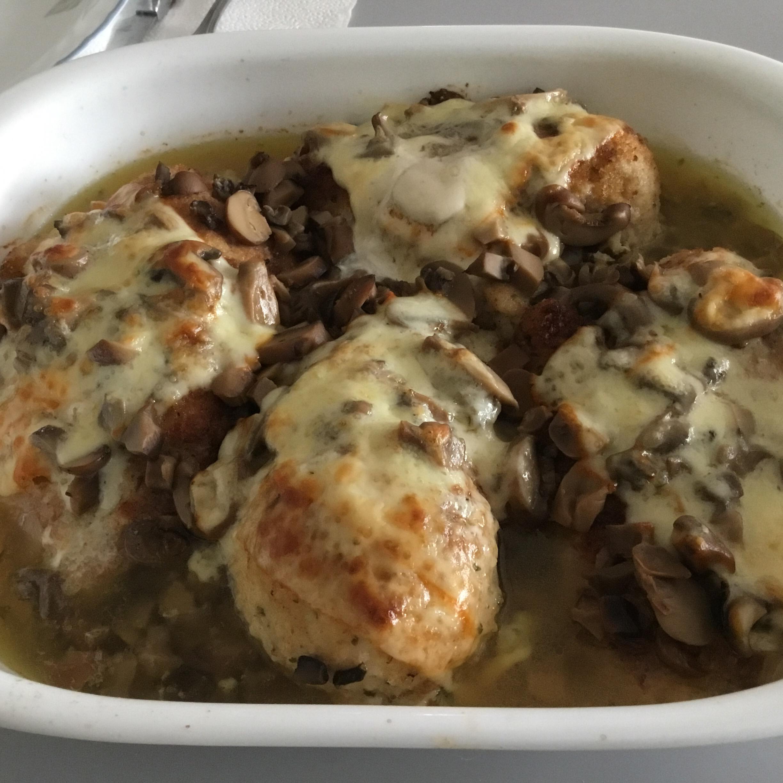 Muenster Chicken and Mushrooms Judy Cipo