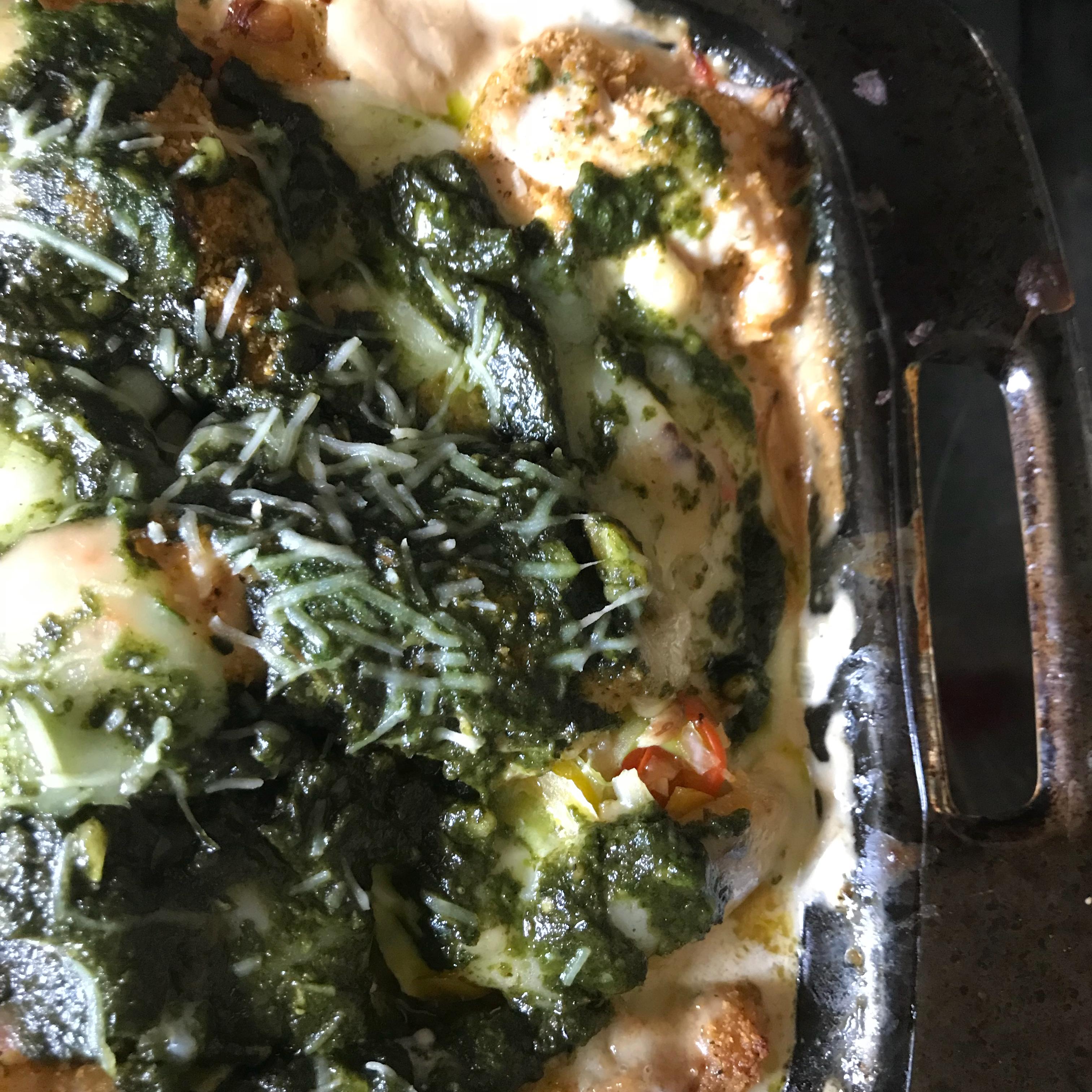 Chicken, Mushroom, and Polenta Lasagna chickuh4u