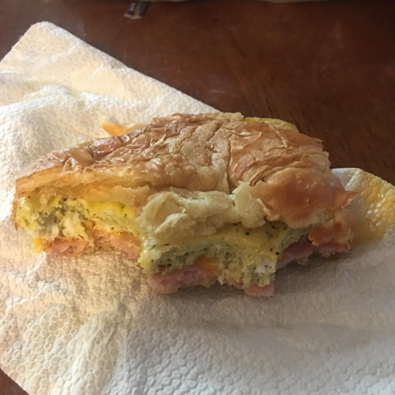 Make-Ahead Baked Egg Sandwiches Paulina Ramirez