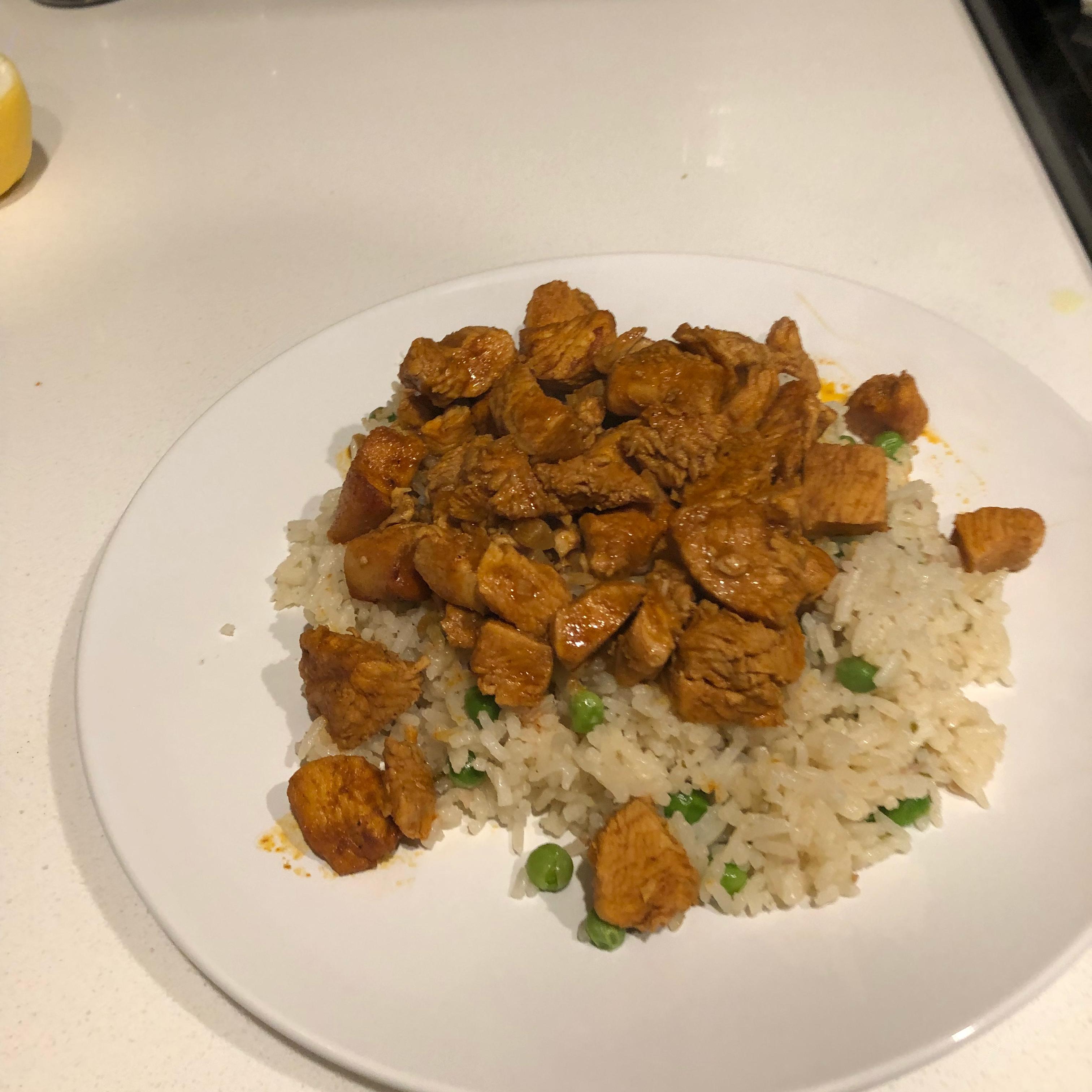 Bill's Peruvian Chicken and Rice monstorr