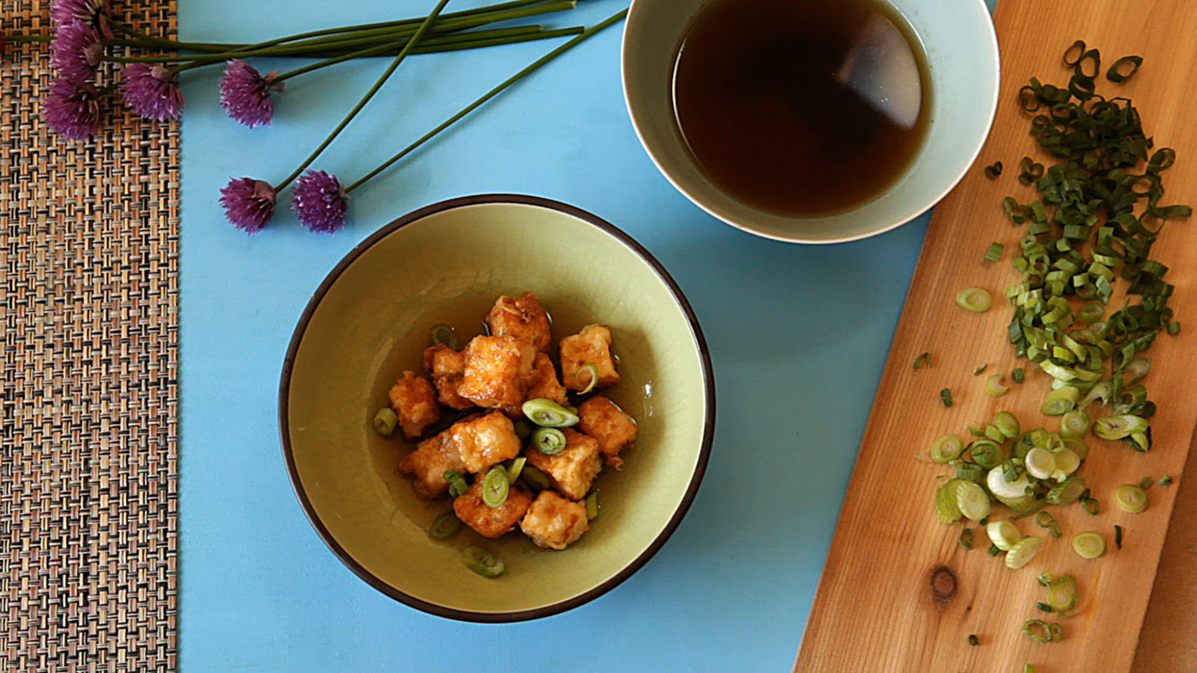 Japanese Agedashi Tofu