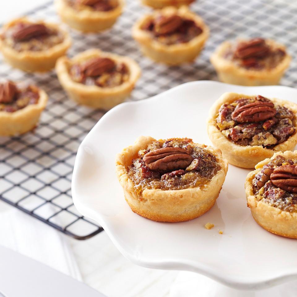 Mini Maple Pecan Pies Diabetic Living Magazine
