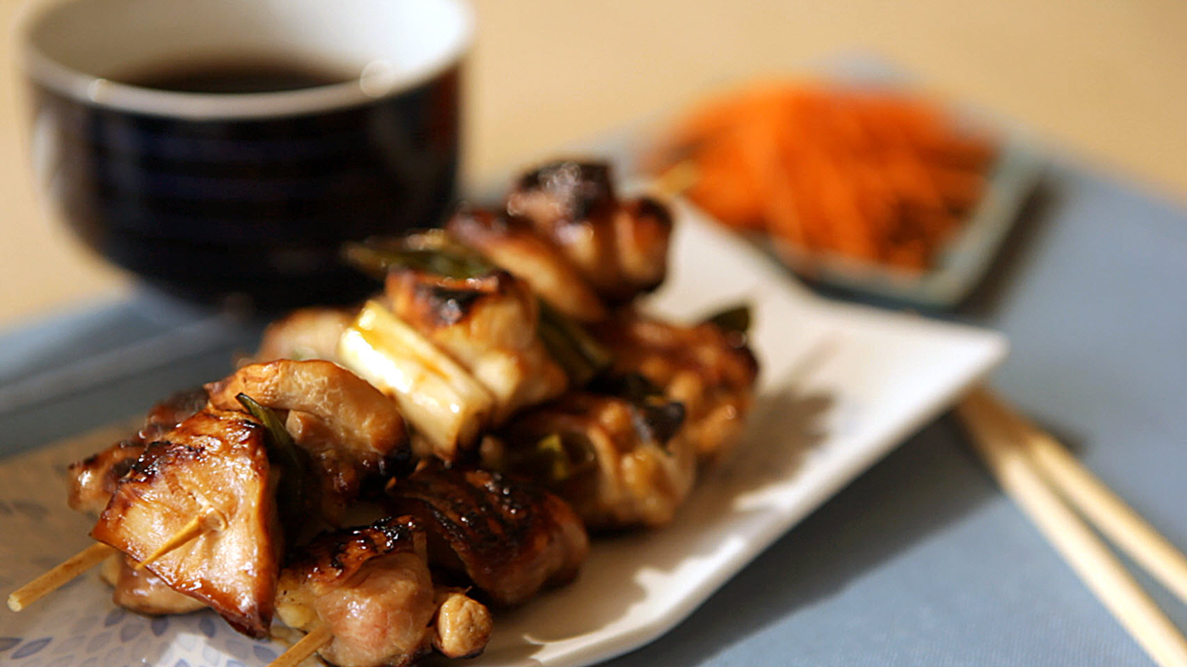 Easy Chicken Yakitori ChefJackie