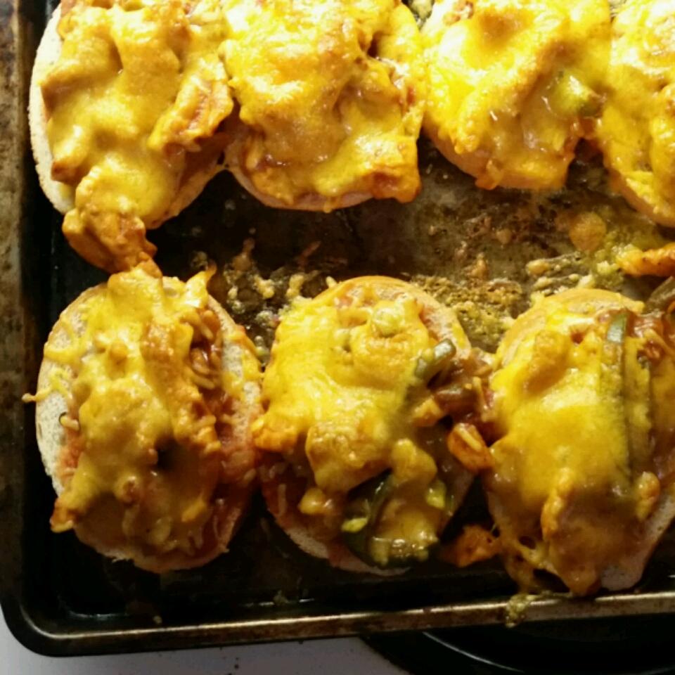 Chicken Fajita Melts