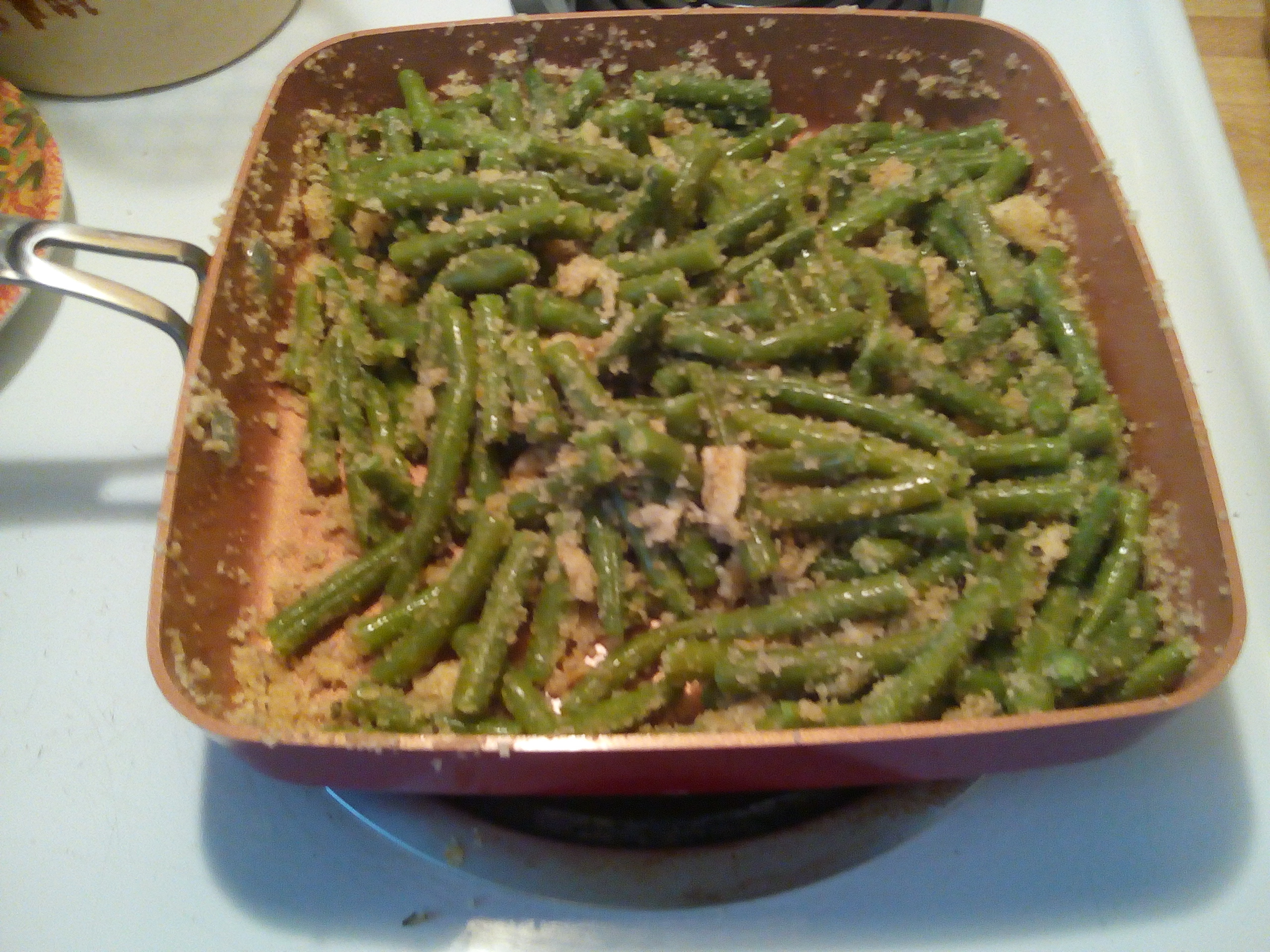 Marilyn's Green Beans Italiano