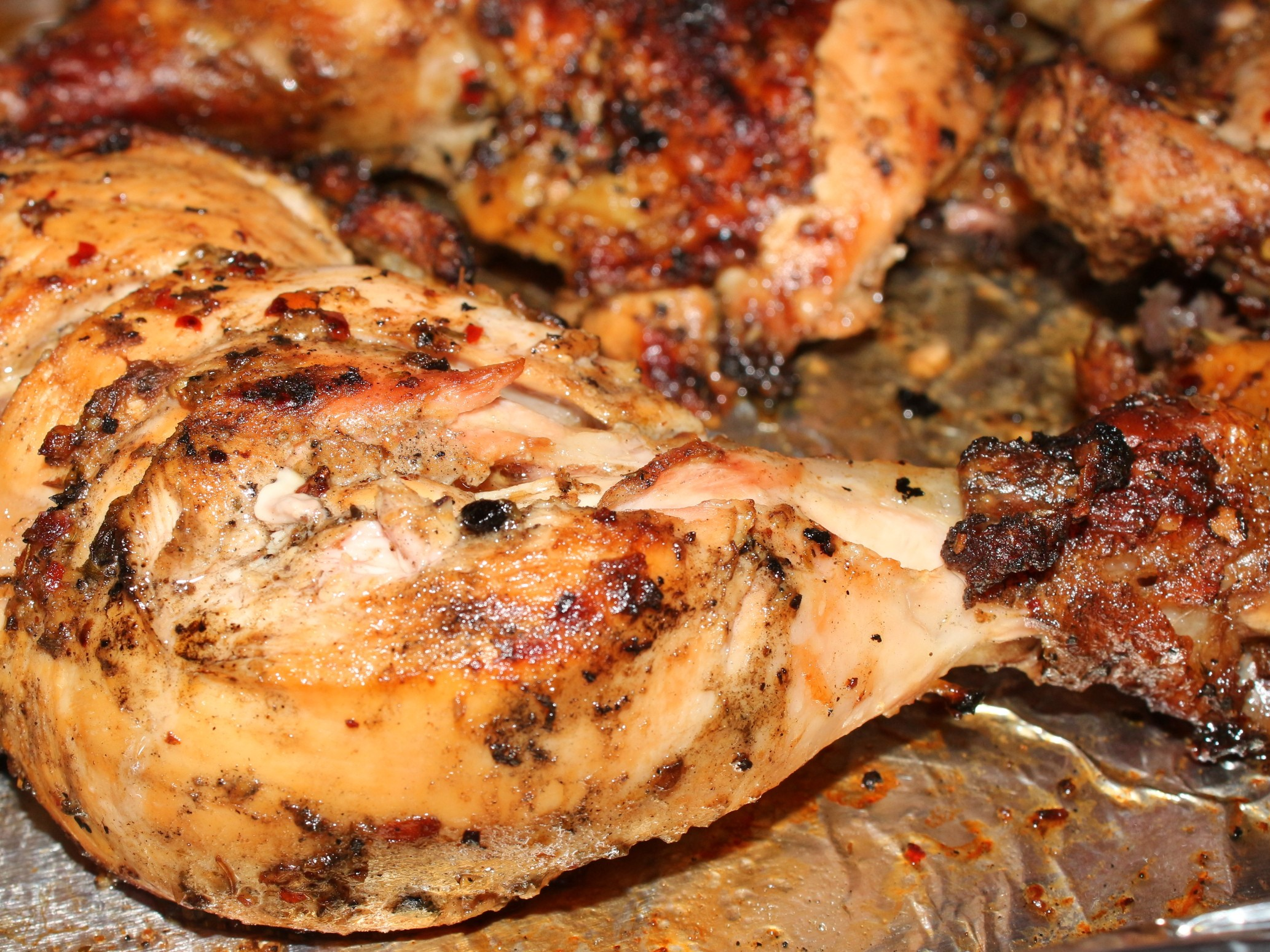 Grilled Greek Chicken