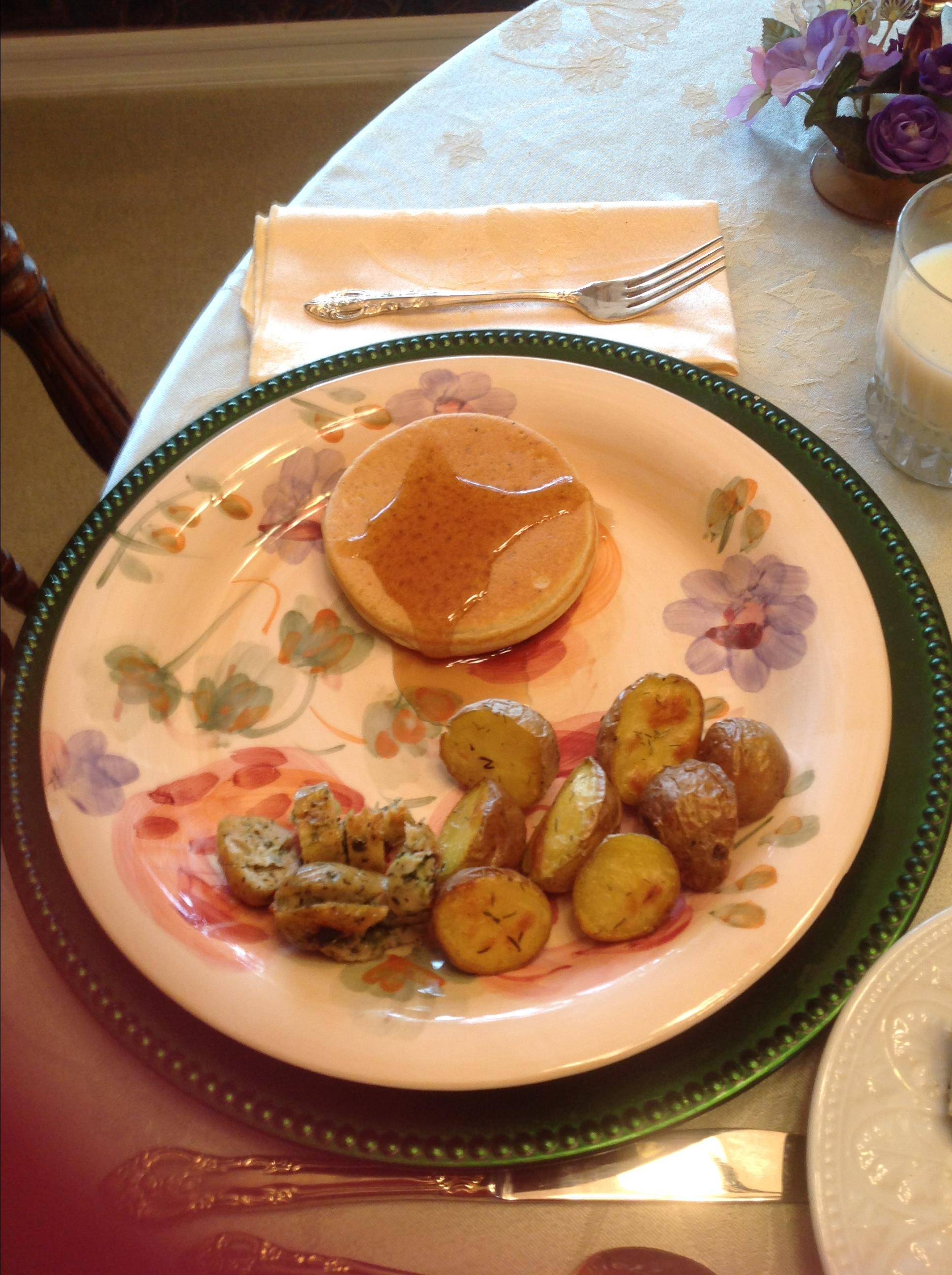 Sunday Morning Lemon Poppy Seed Pancakes Dennis Tobin