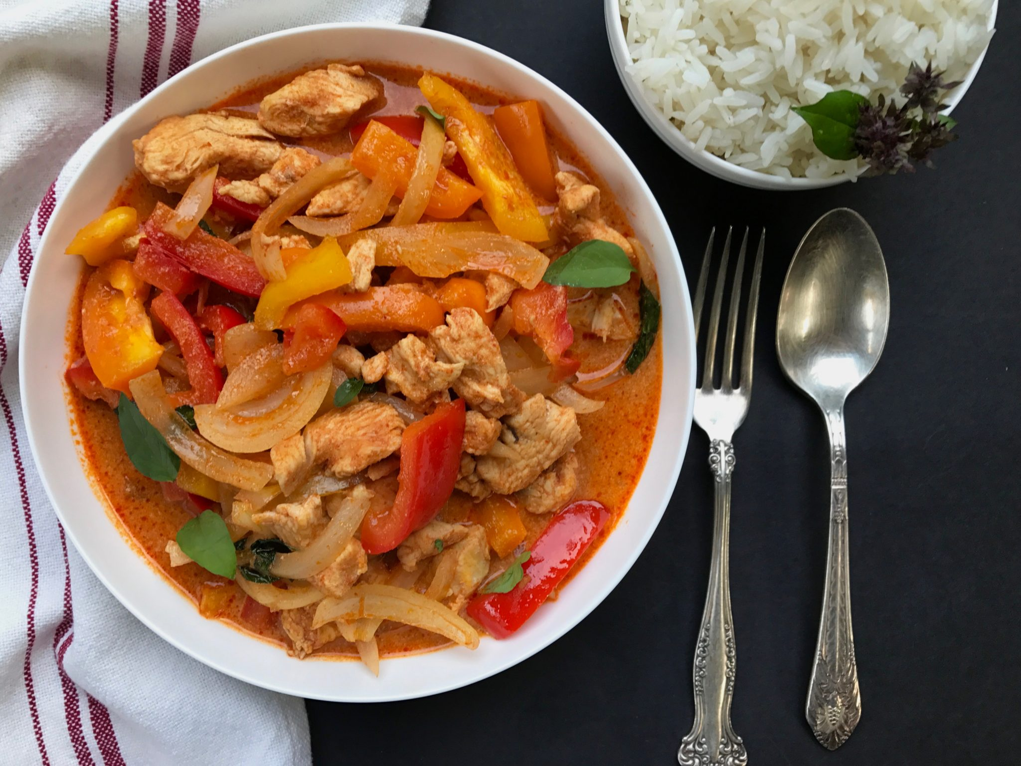 Instant Pot® Red Thai Curry Chicken