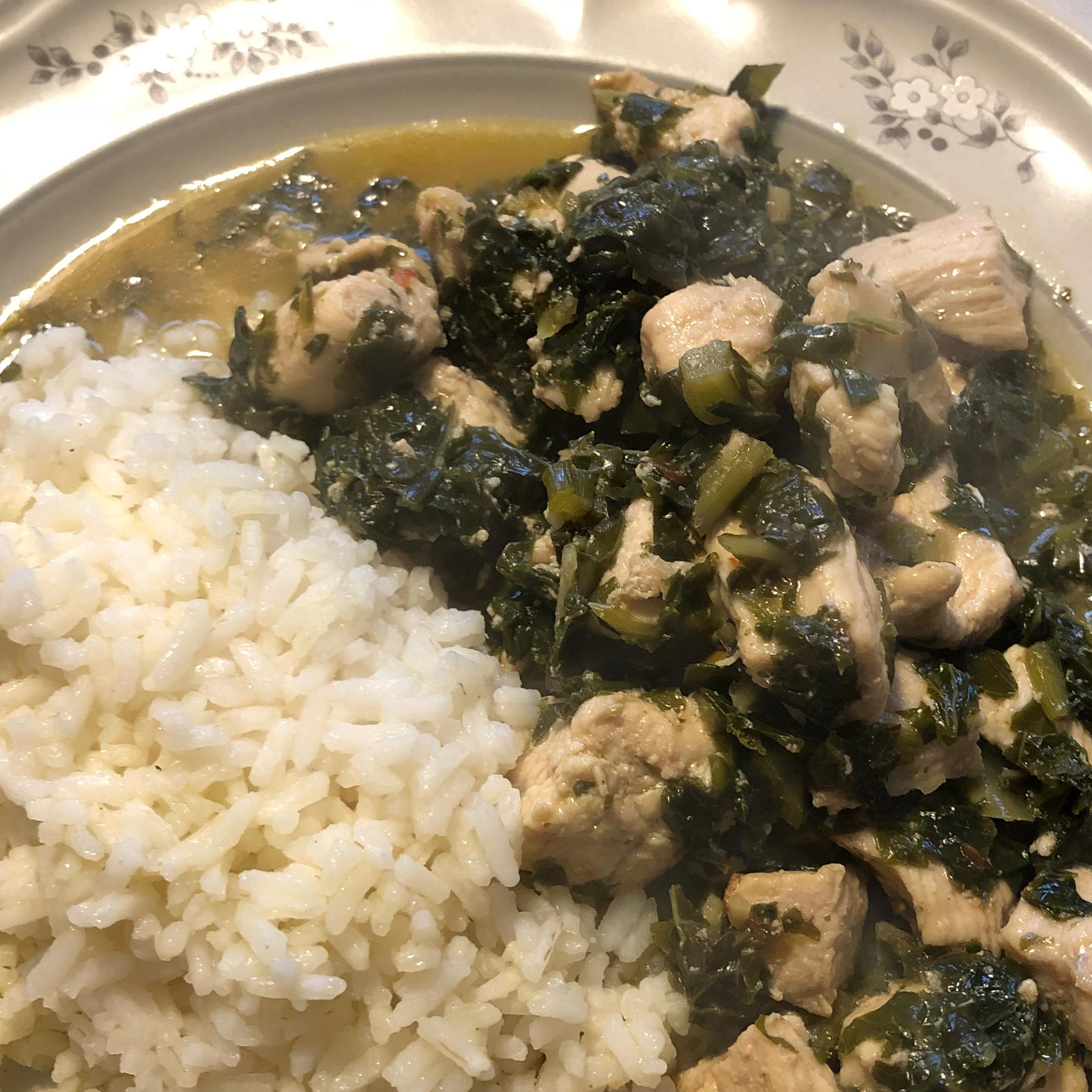 Healthier Kung Pao Chicken wasupwida