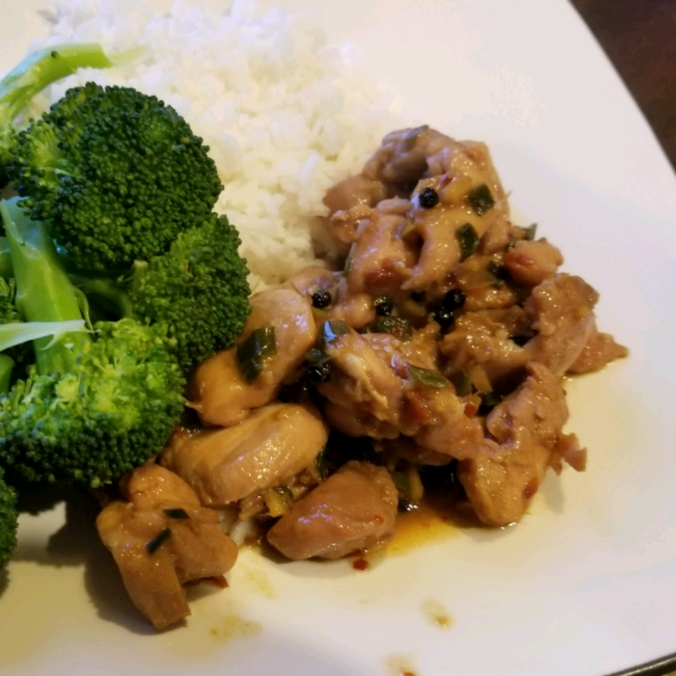 Hunan-Style Chicken Nate Mackinnon