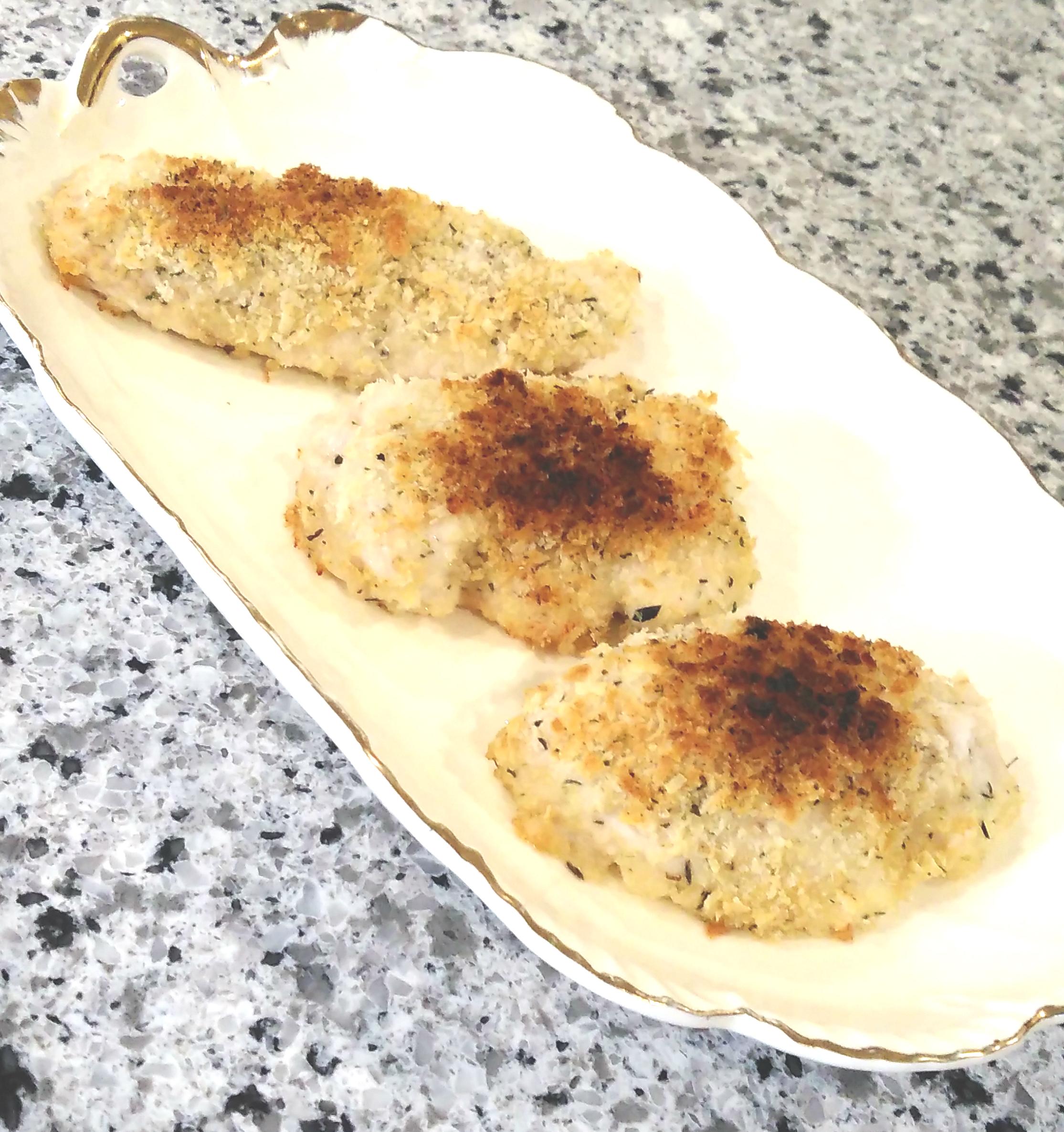 Family Favorite Crispy Parmesan Chicken