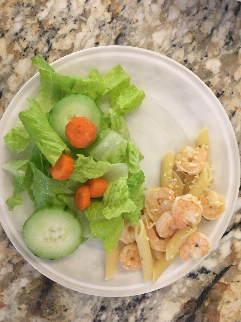 Lemon and Garlic Shrimp image