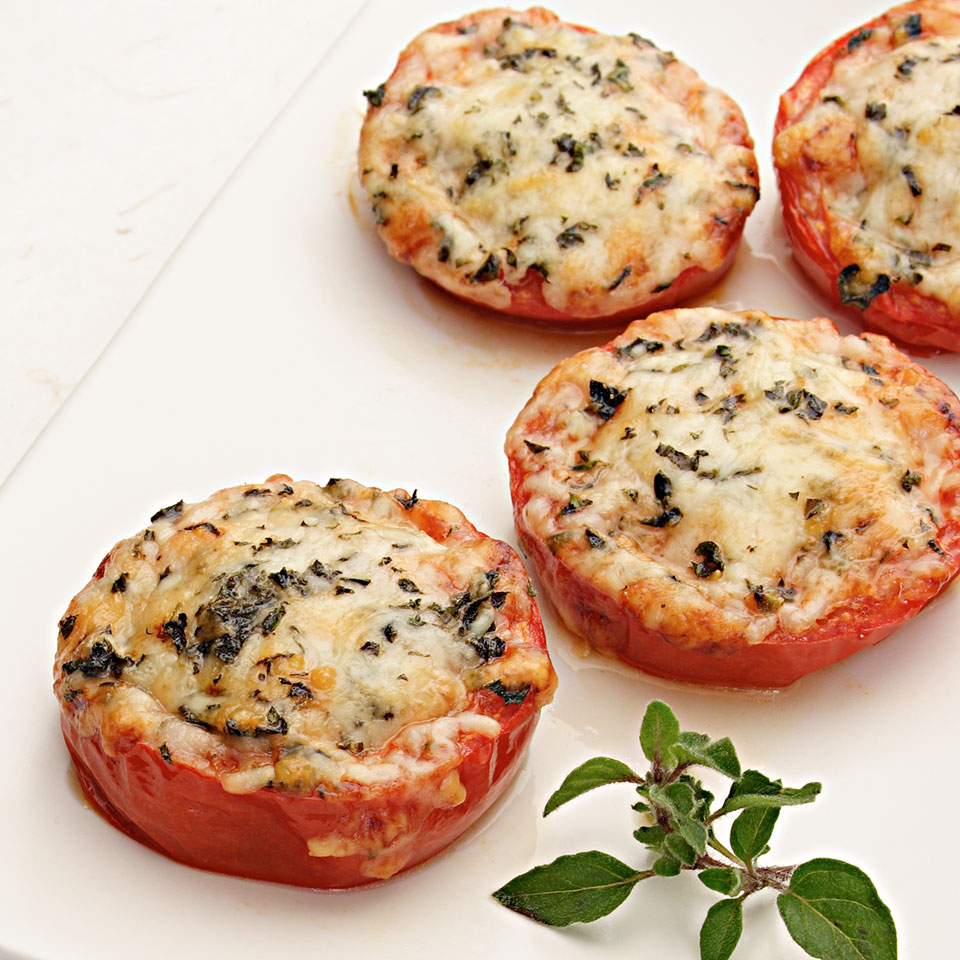 Baked Parmesan Tomatoes EatingWell Test Kitchen