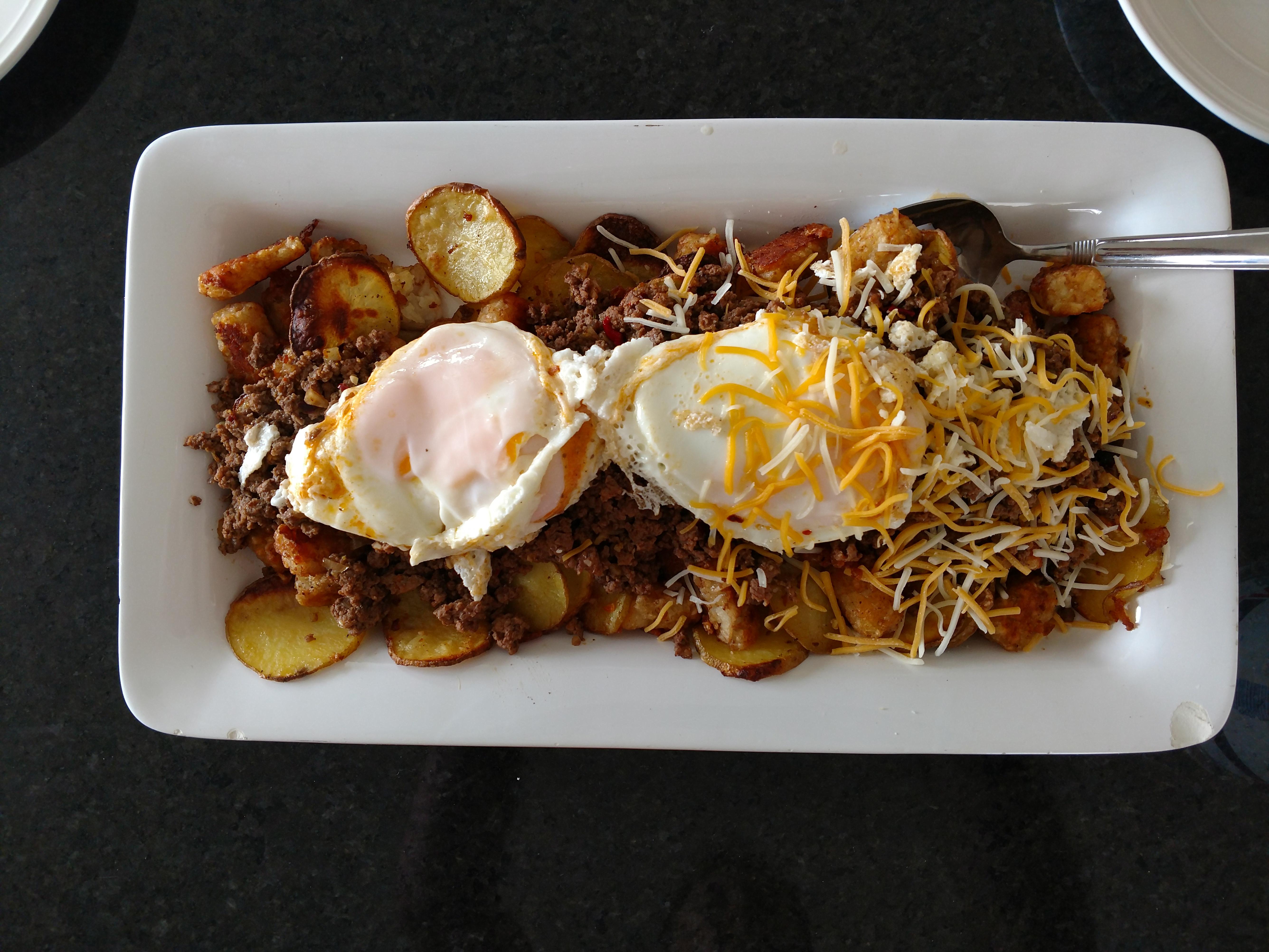 Breakfast Nachos! Kevin Penny