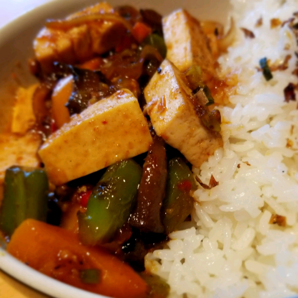 Hot and Spicy Tofu SouthernBento