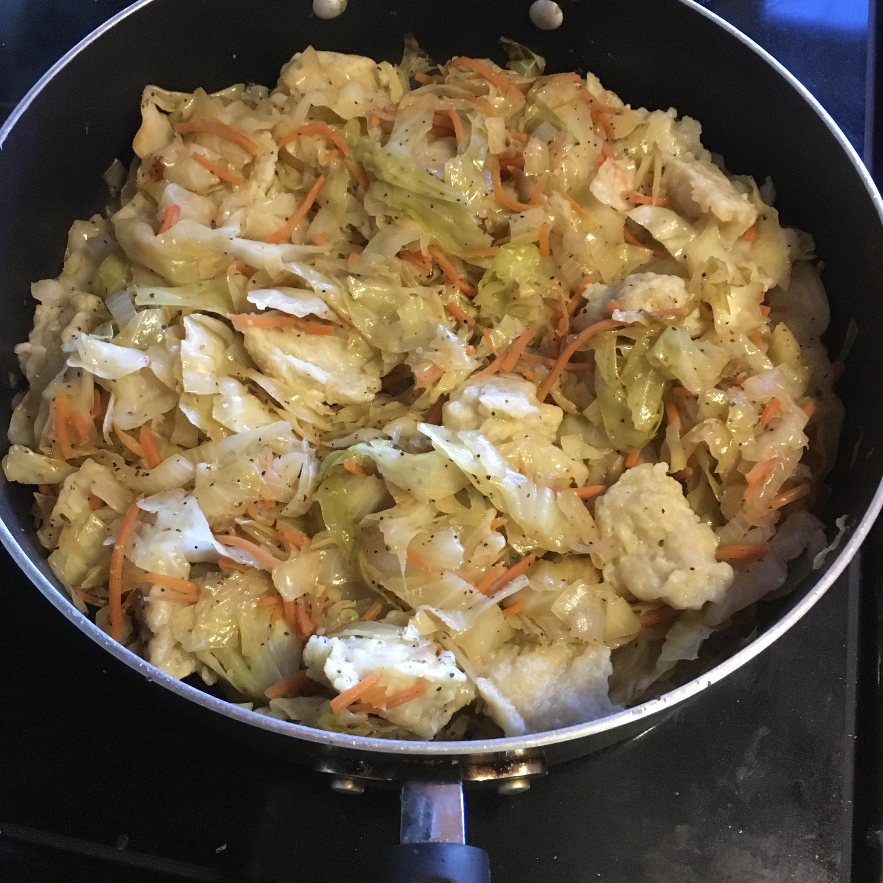 Cabbage and Dumplings MonSaun
