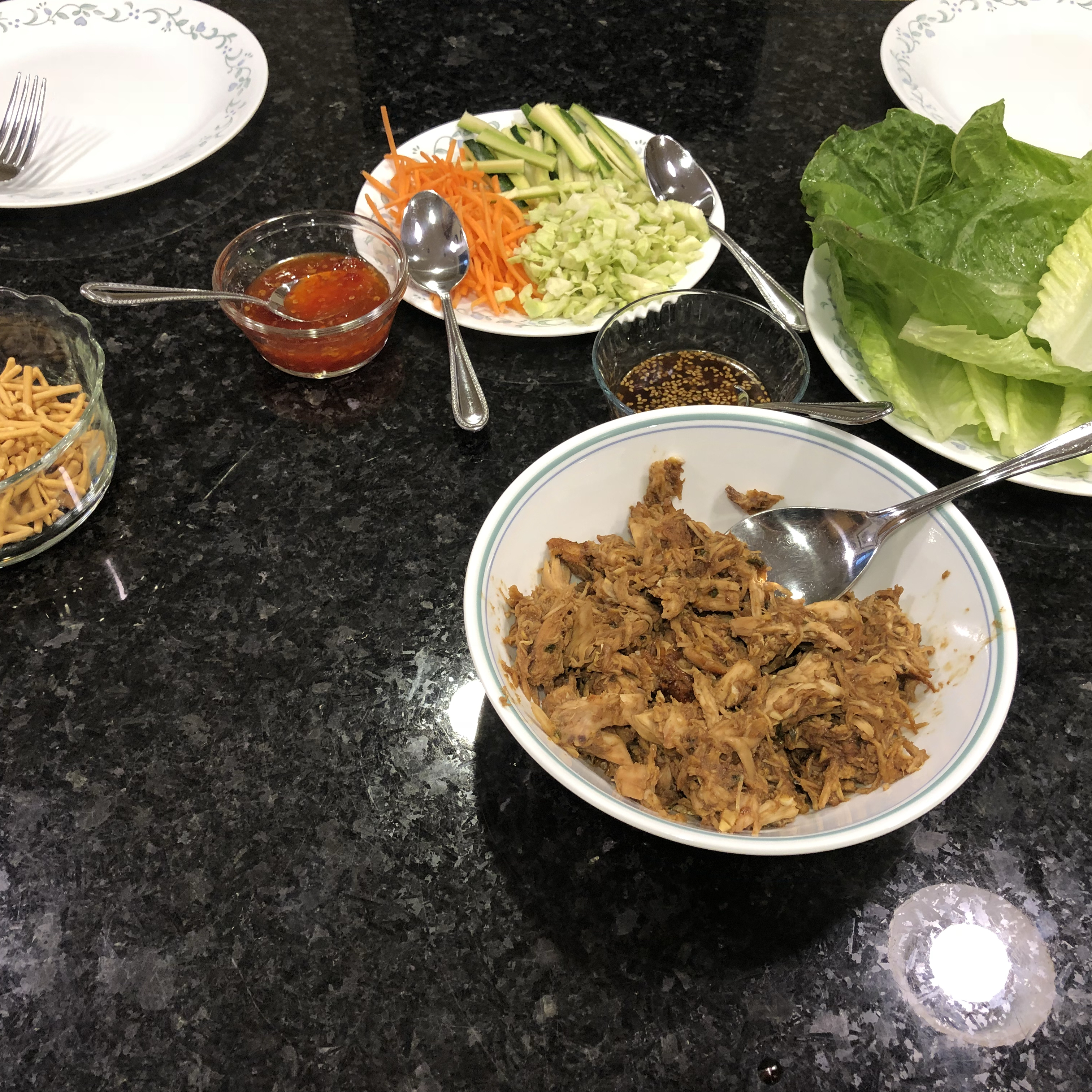 My Thai Chicken Wraps