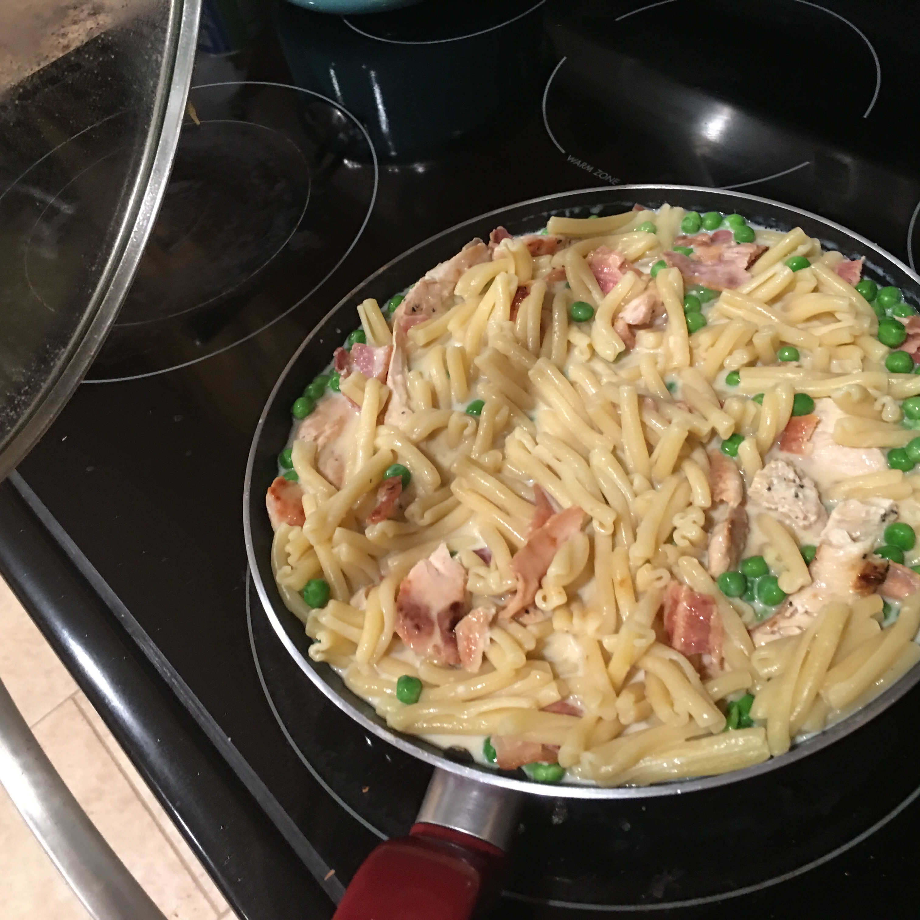 Chicken Carbonara Risotto mattyice25