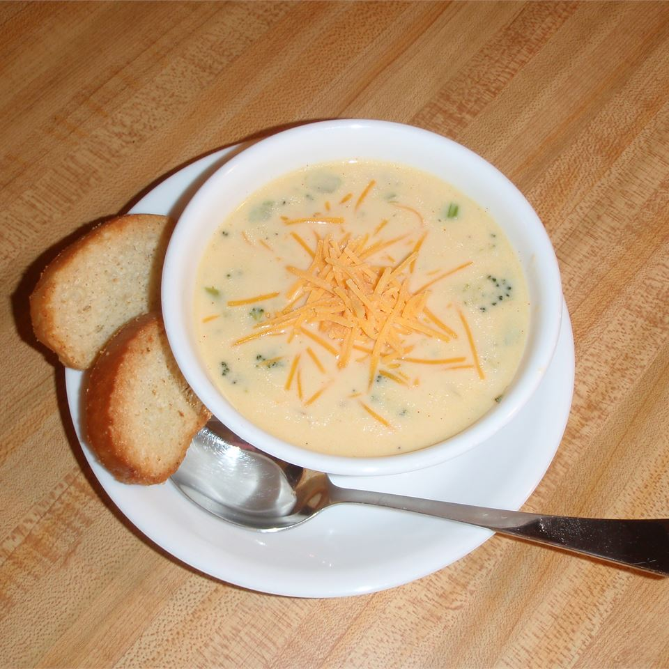 Cream of Broccoli Soup V