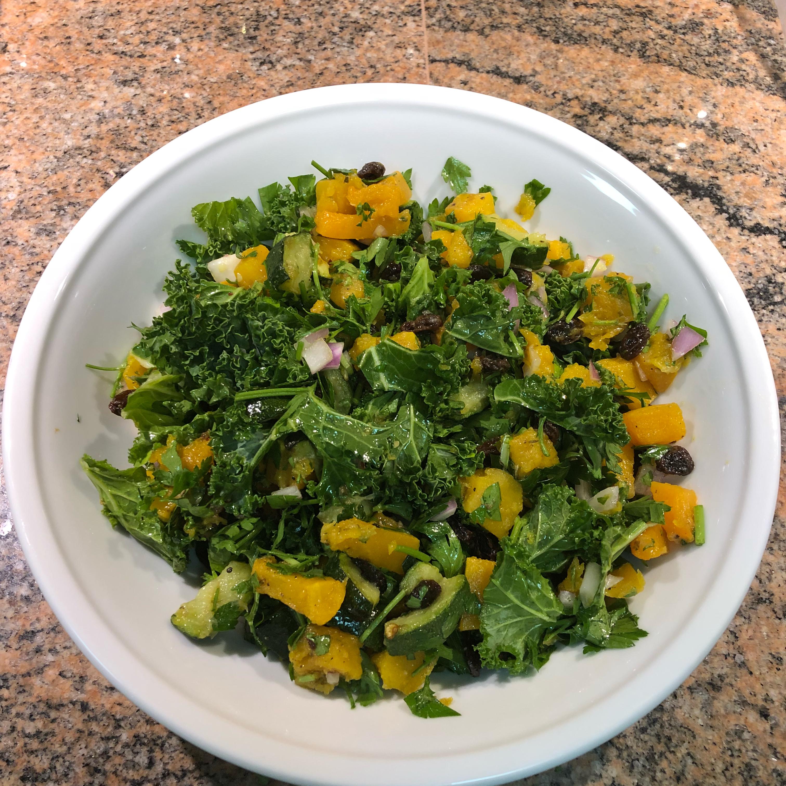 Quinoa, Butternut Squash, and Kale Salad
