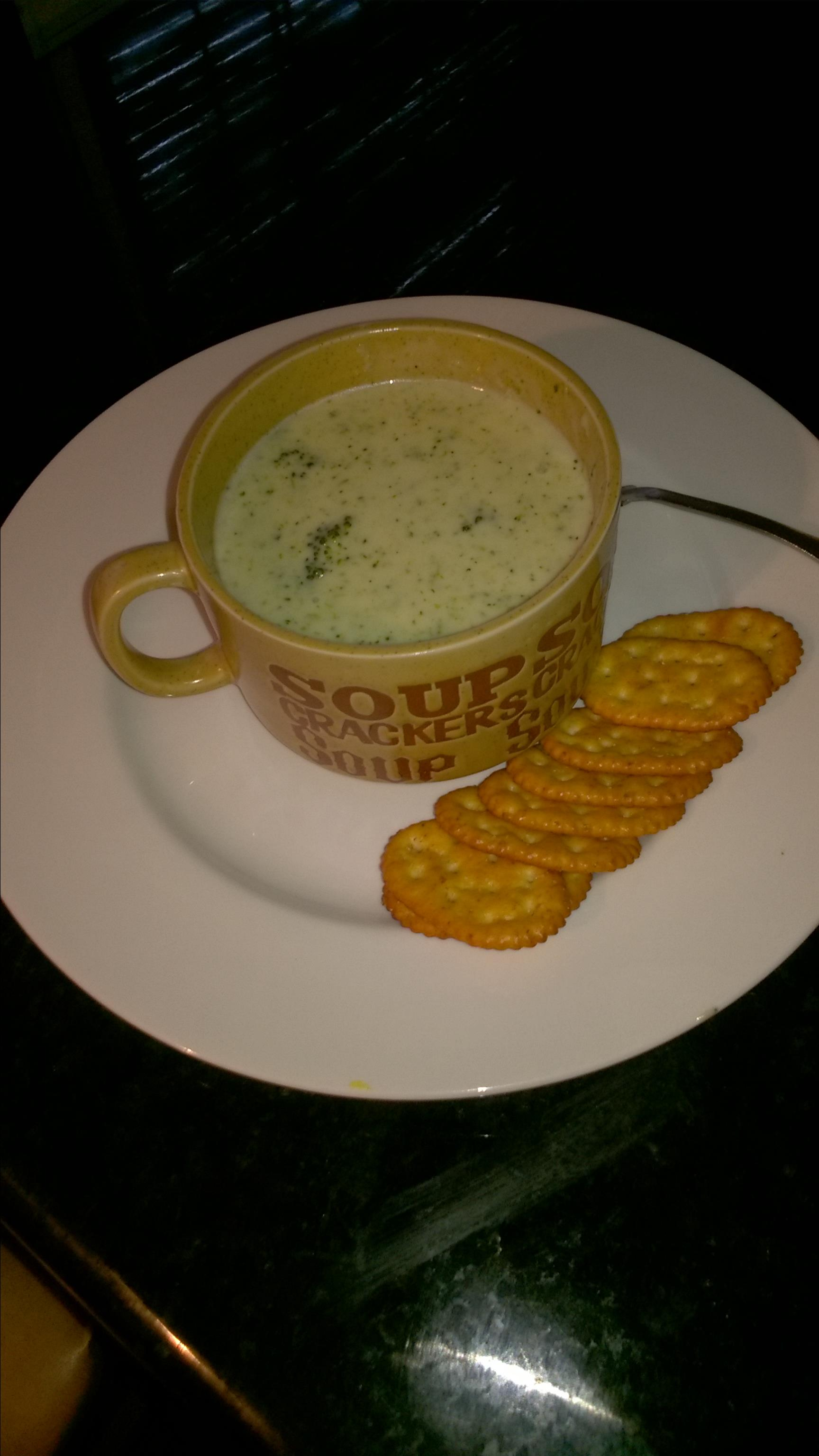 Gourmet Cream of Broccoli Soup