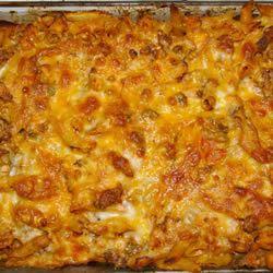 Chicken and Chorizo Pasta Bake Simon Wraight