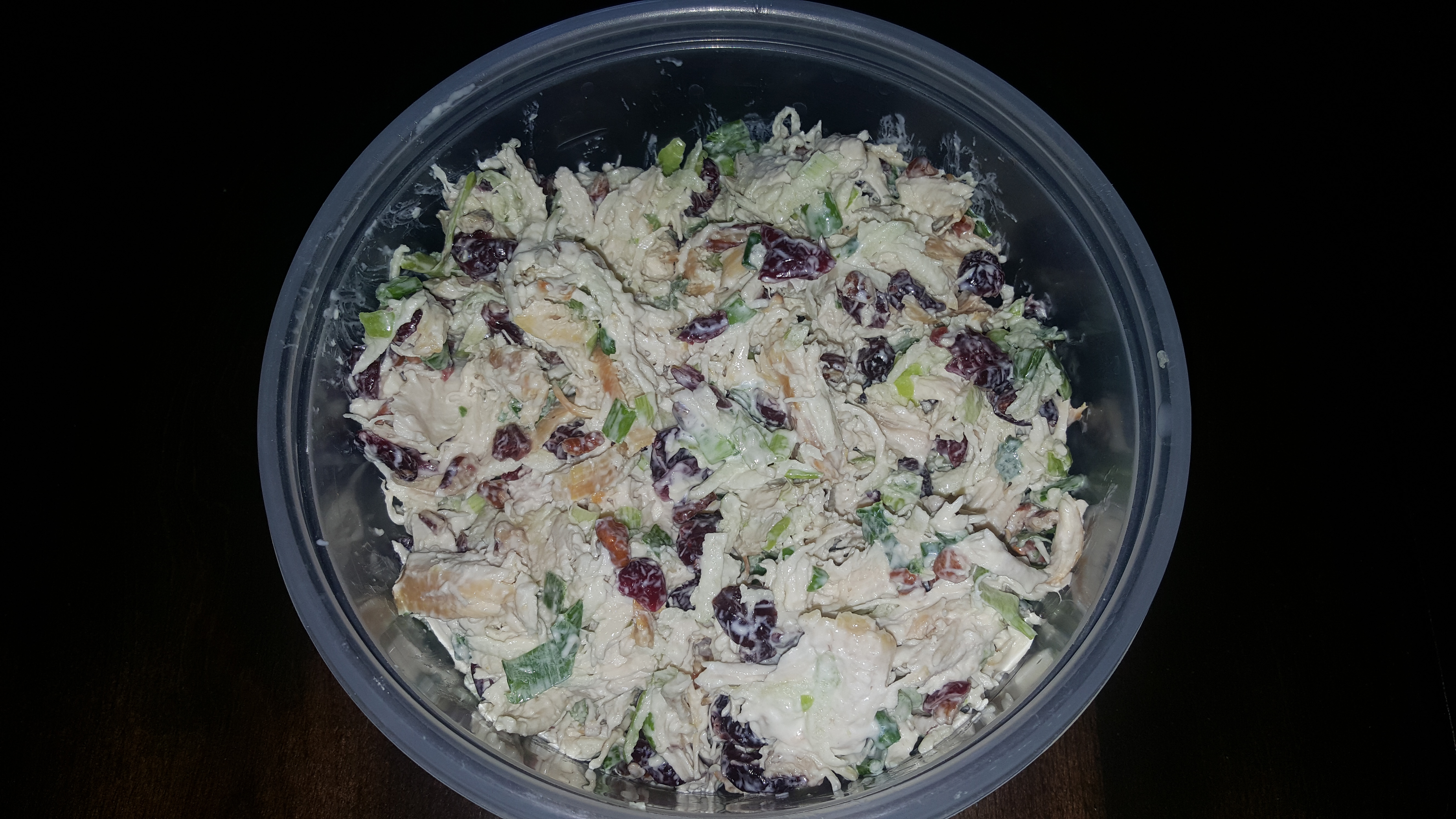 Rachel's Cranberry Chicken Salad Dave Thompson