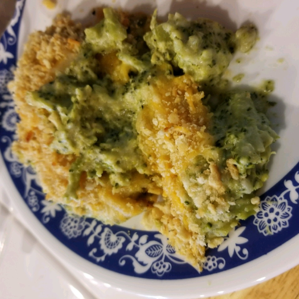 Creamy Broccoli and Cheese Casserole Rebecca Joy Bigelow