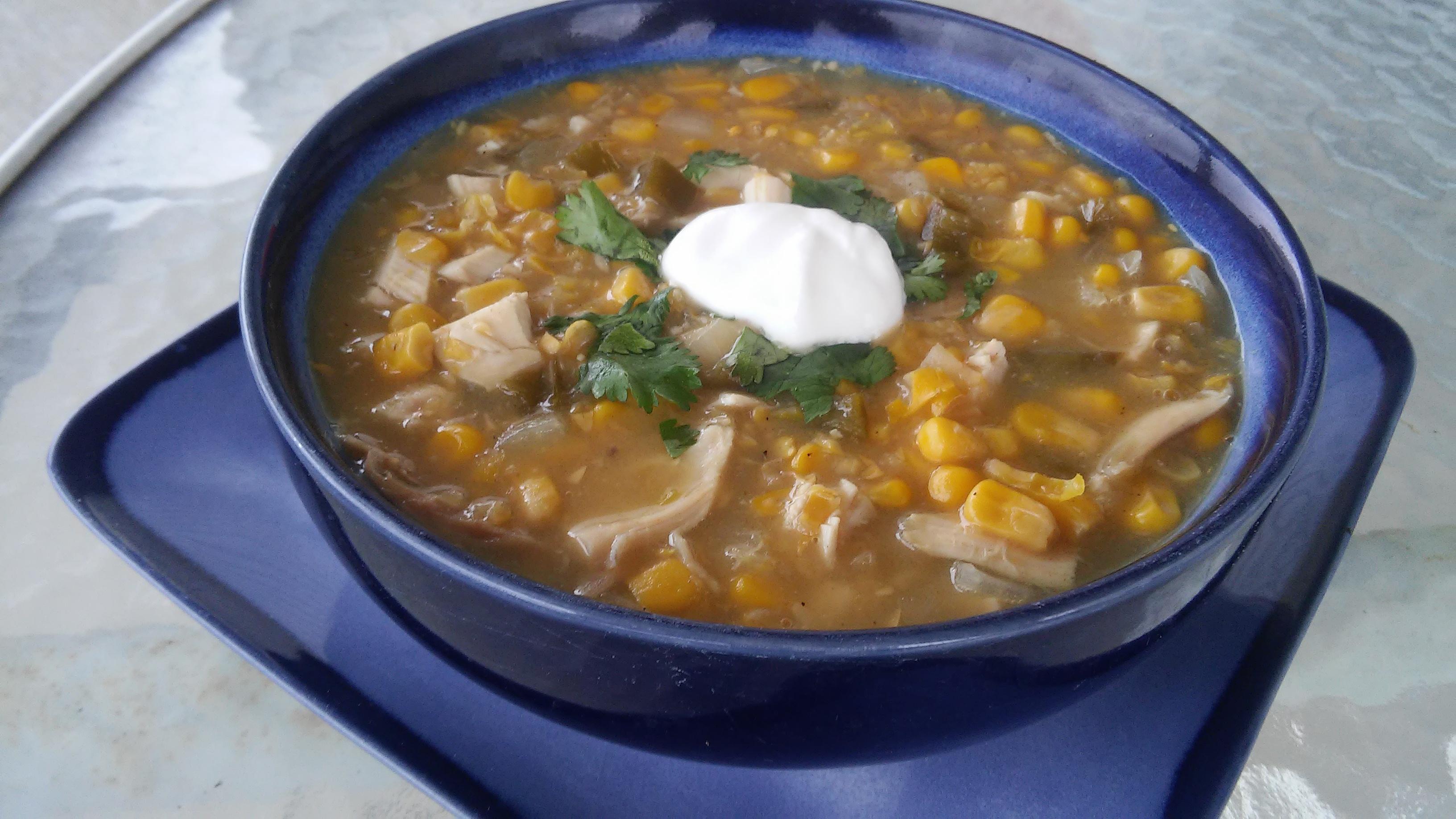 Spicy Southwest Corn Chowder Tammy Lynn