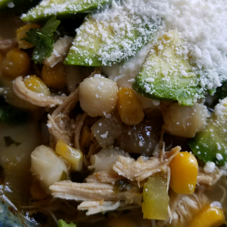 Rotisserie Chicken Chili With Hominy And Chiles Recipe Allrecipes