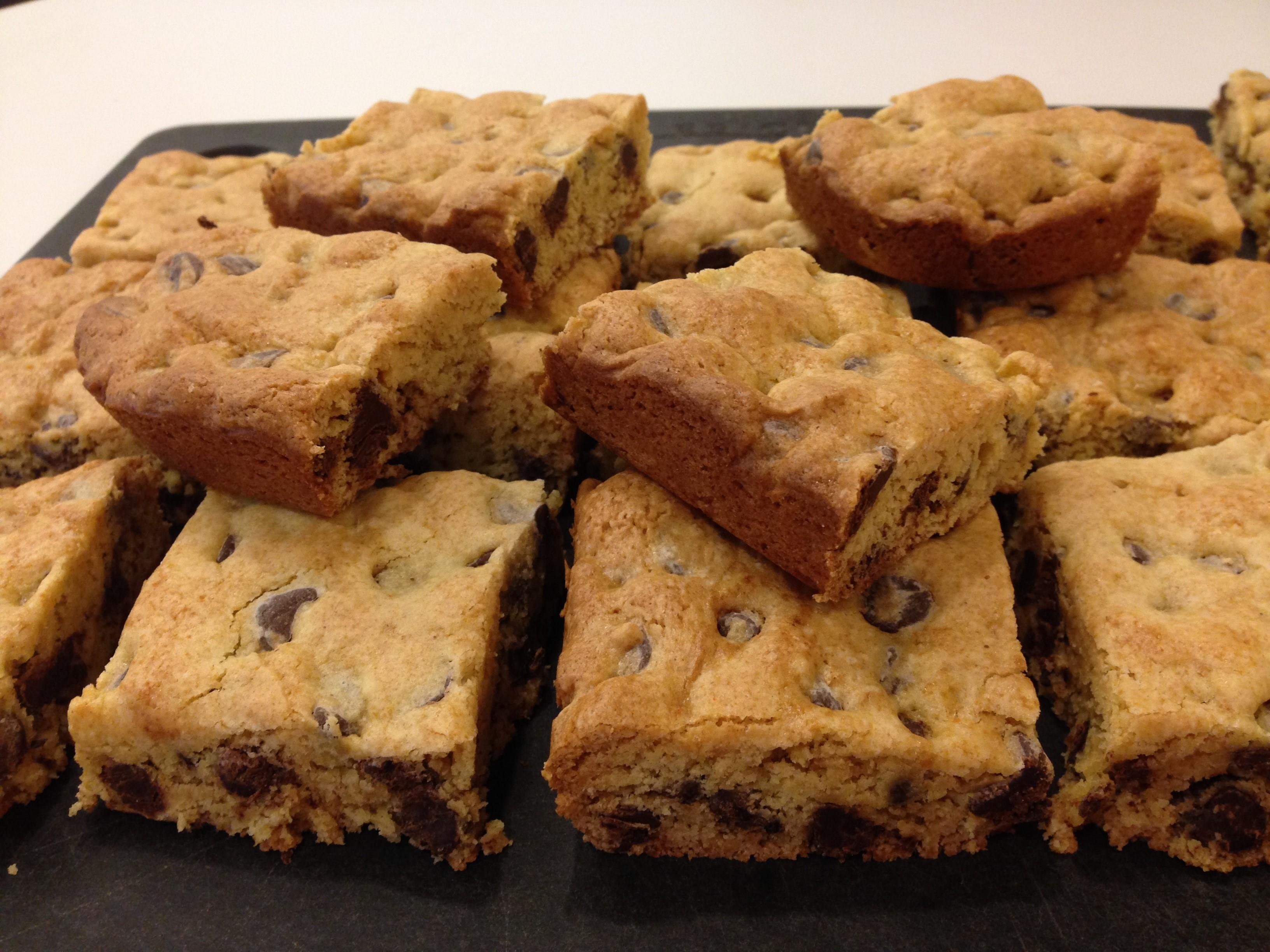 Quick Chocolate Chip Cookie Cake Recipe Allrecipes Com Allrecipes