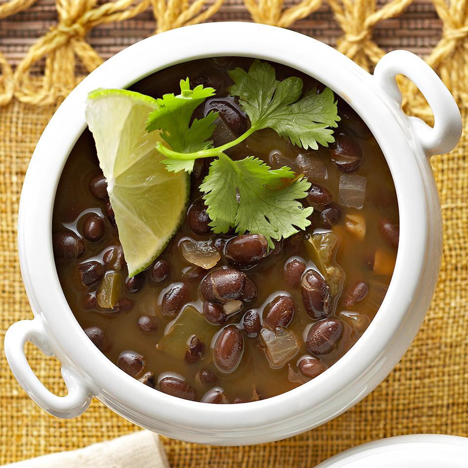 Vegetarian Black Bean Soup Diabetic Living Magazine
