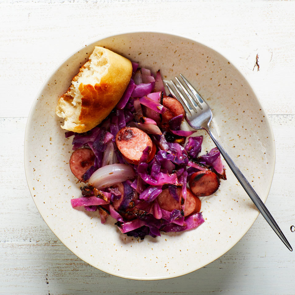 Cabbage & Smoked Sausage Grill Packets with Caraway Joy Howard
