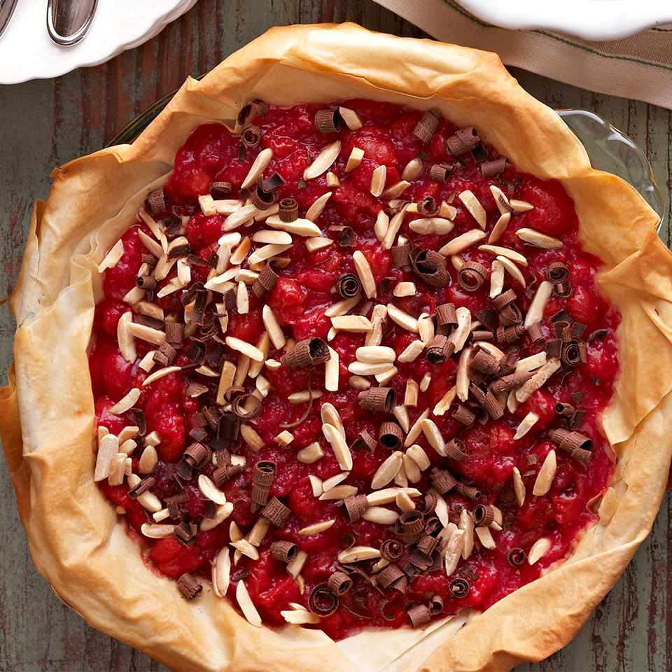 Chocolate-Almond Topped Cherry Pie Diabetic Living Magazine