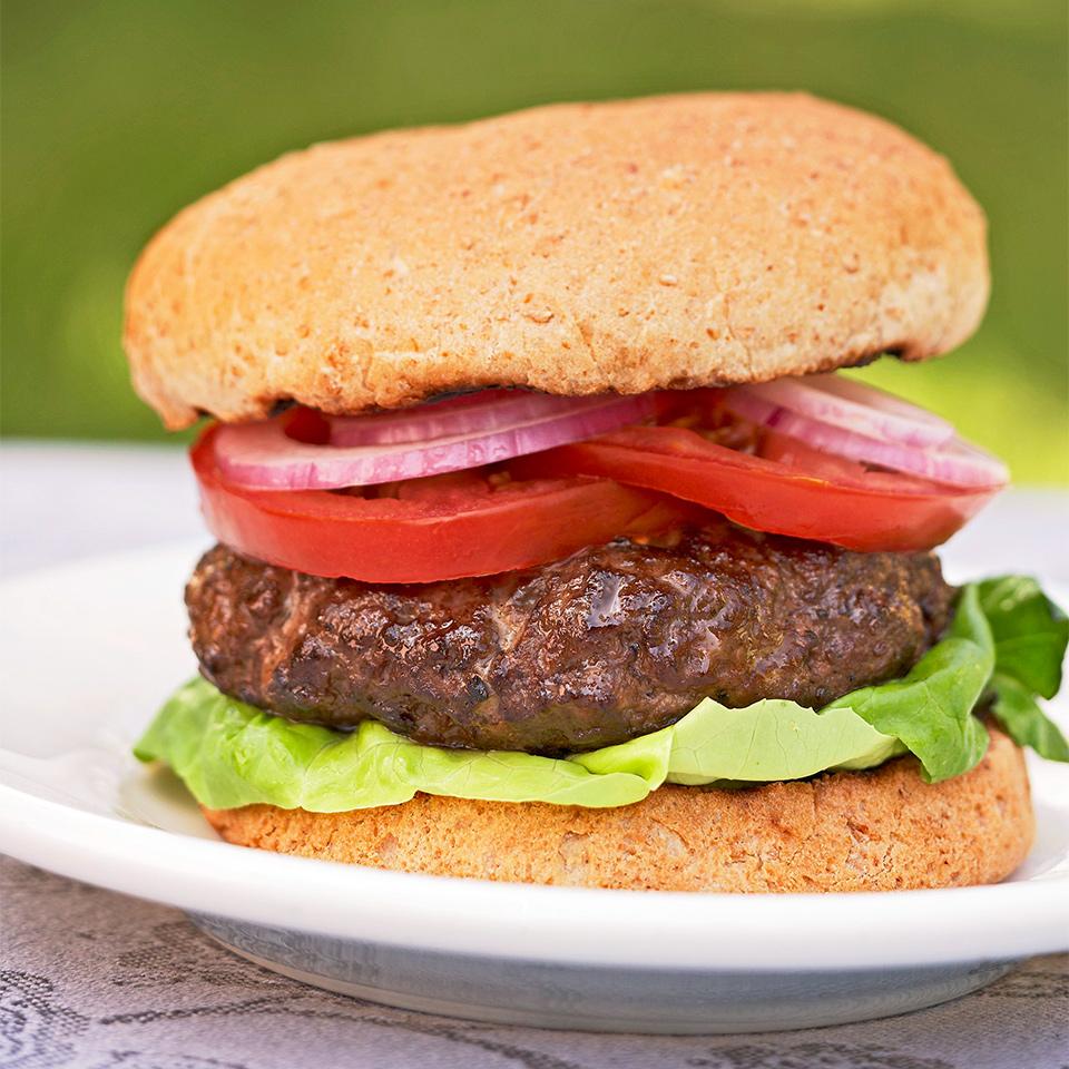 Whiskey Venison Burgers Recipe Eatingwell