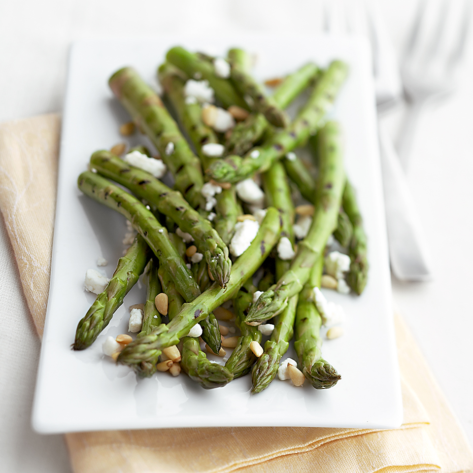 Asparagus with Goat Cheese Diabetic Living Magazine