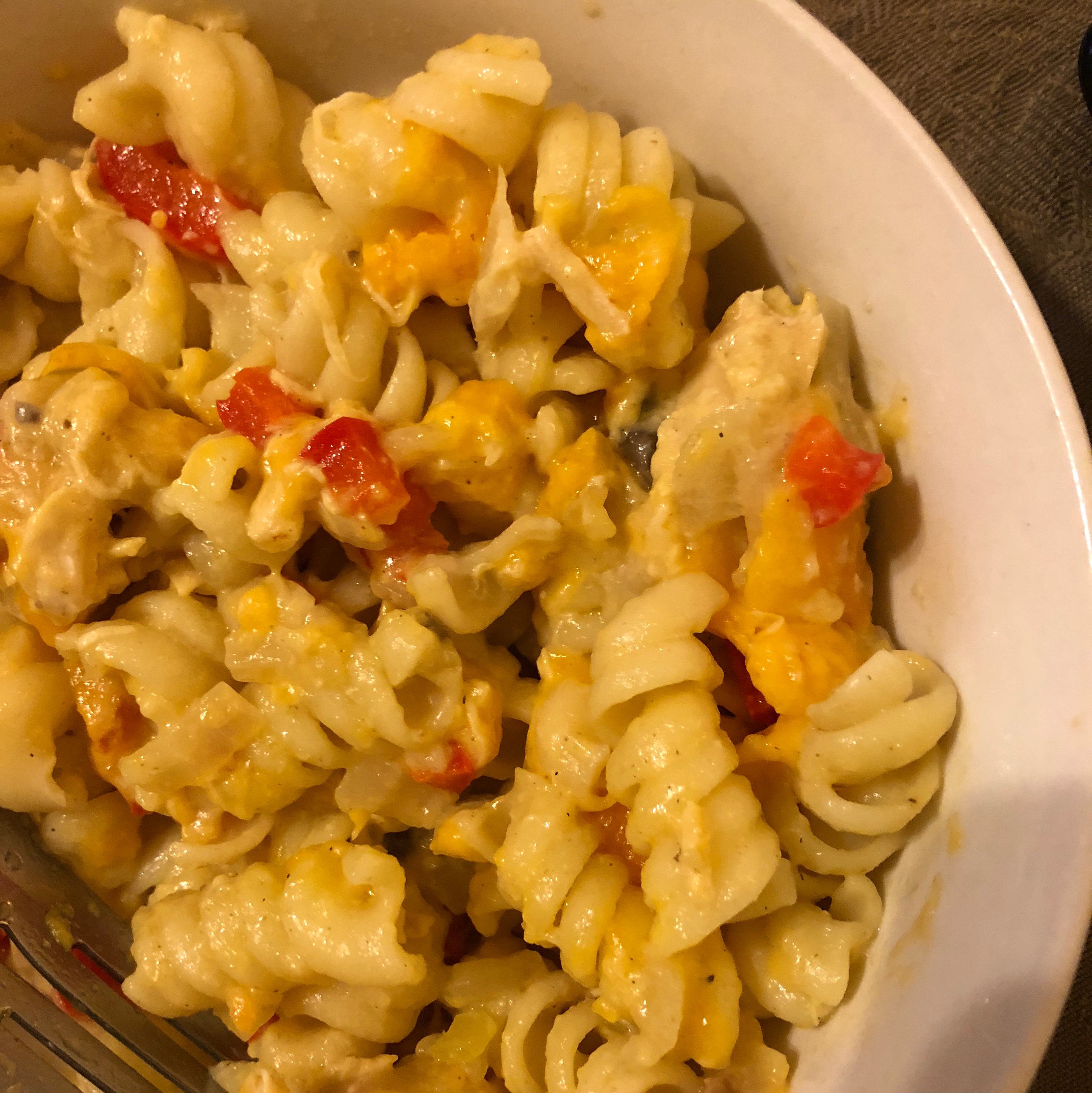 Fast and Easy Chicken Tetrazzini loetaylor