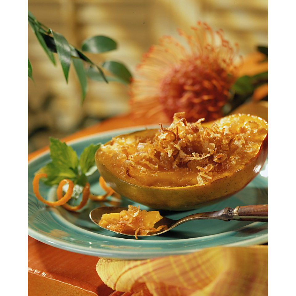 Roasted Mangoes with Brown Sugar Topping Diabetic Living Magazine