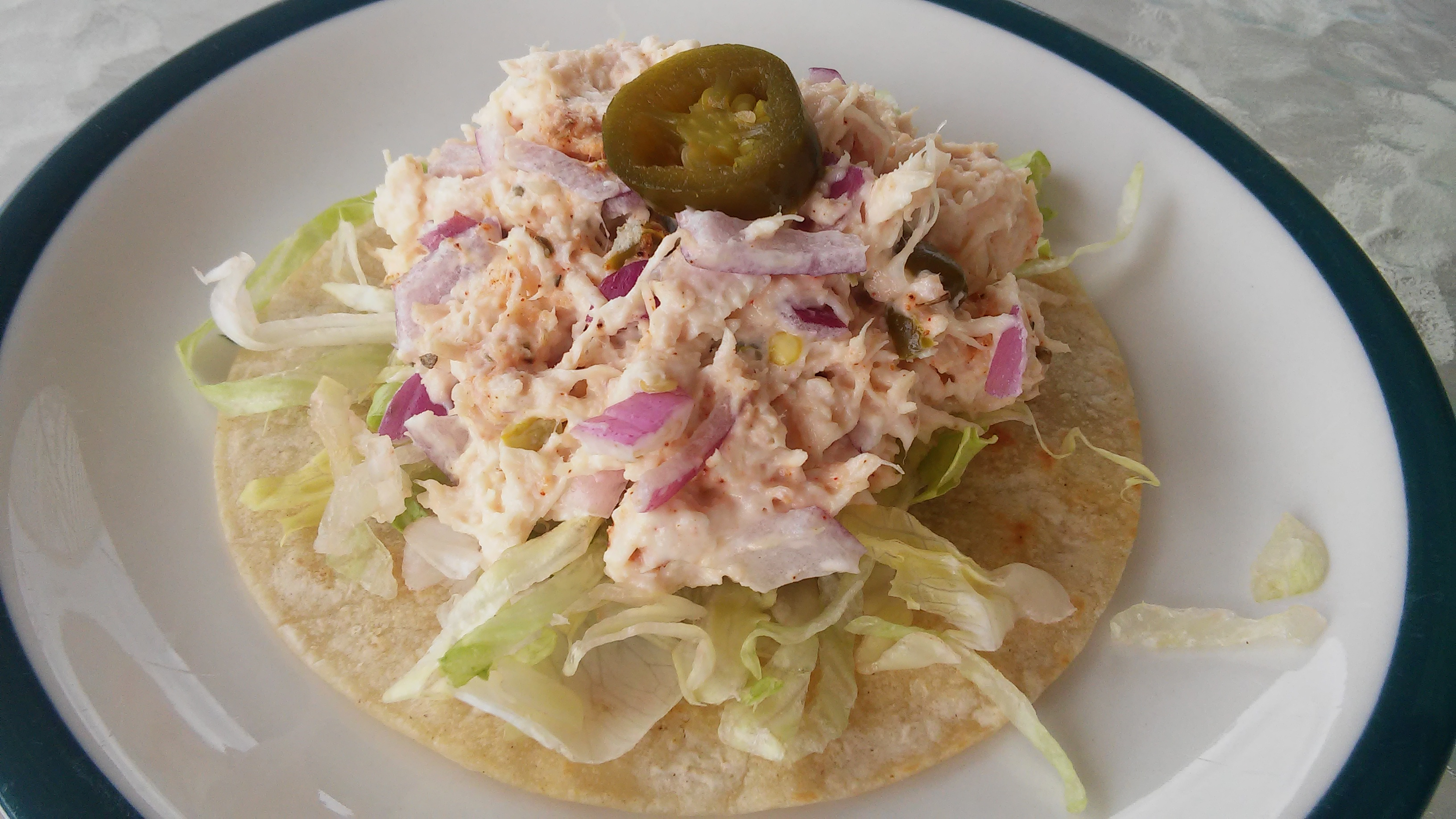 Twisted Chicken Salad with Tostadas Tammy Lynn