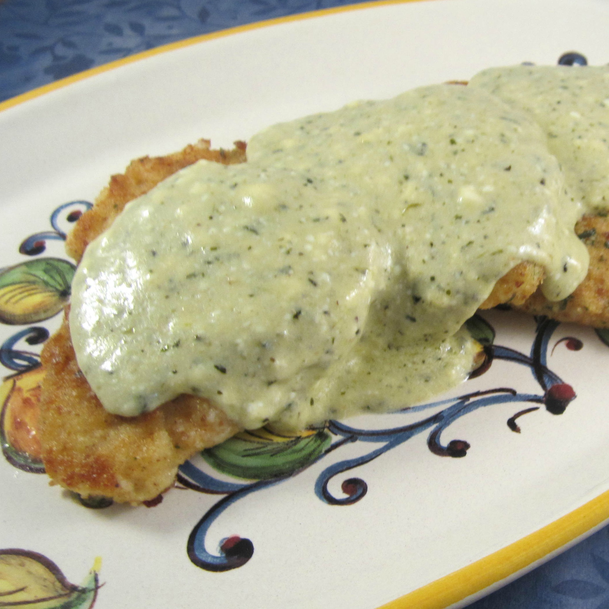 Creamy PHILLY Pesto Chicken